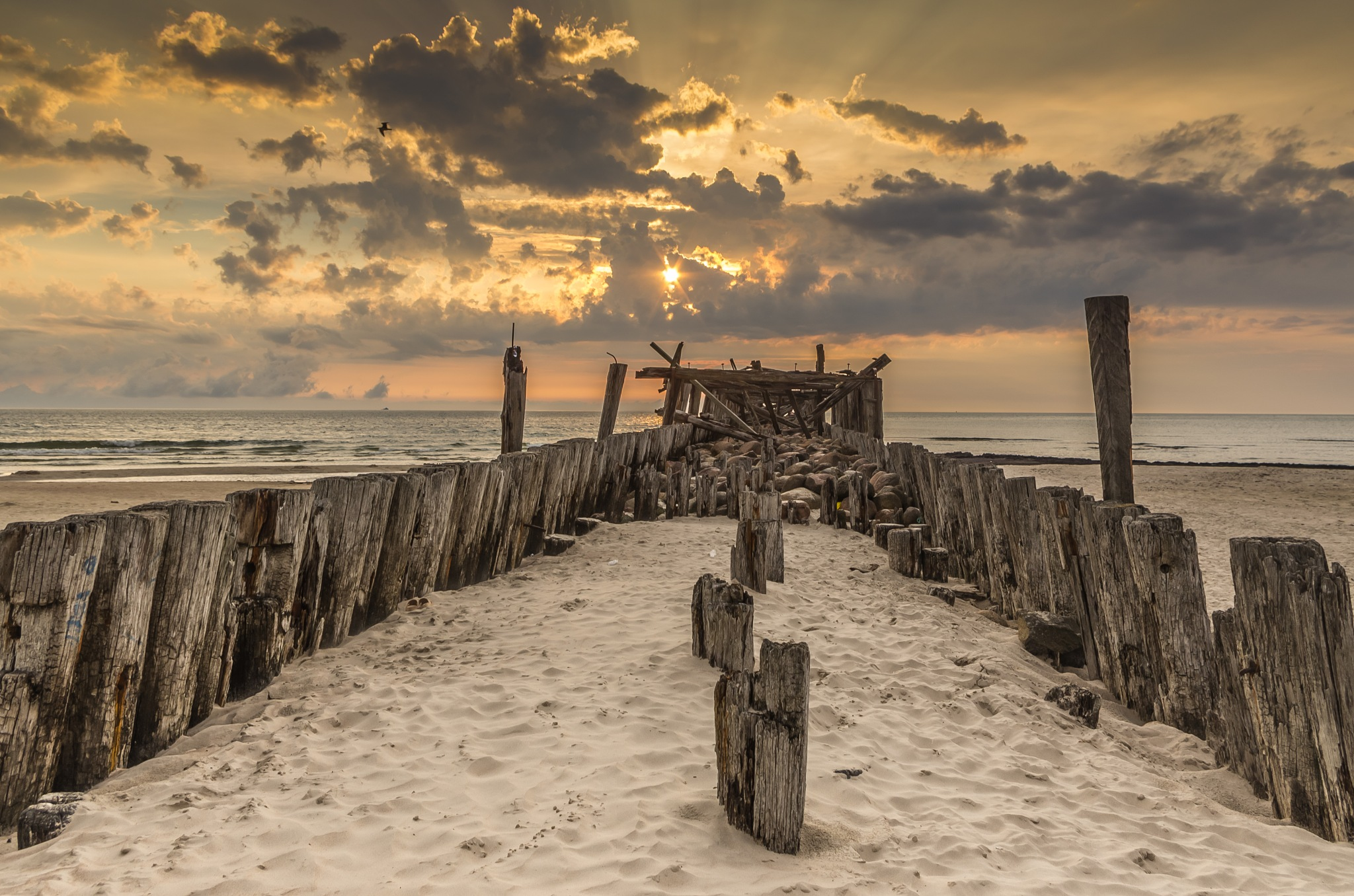 old pier by Eagle70