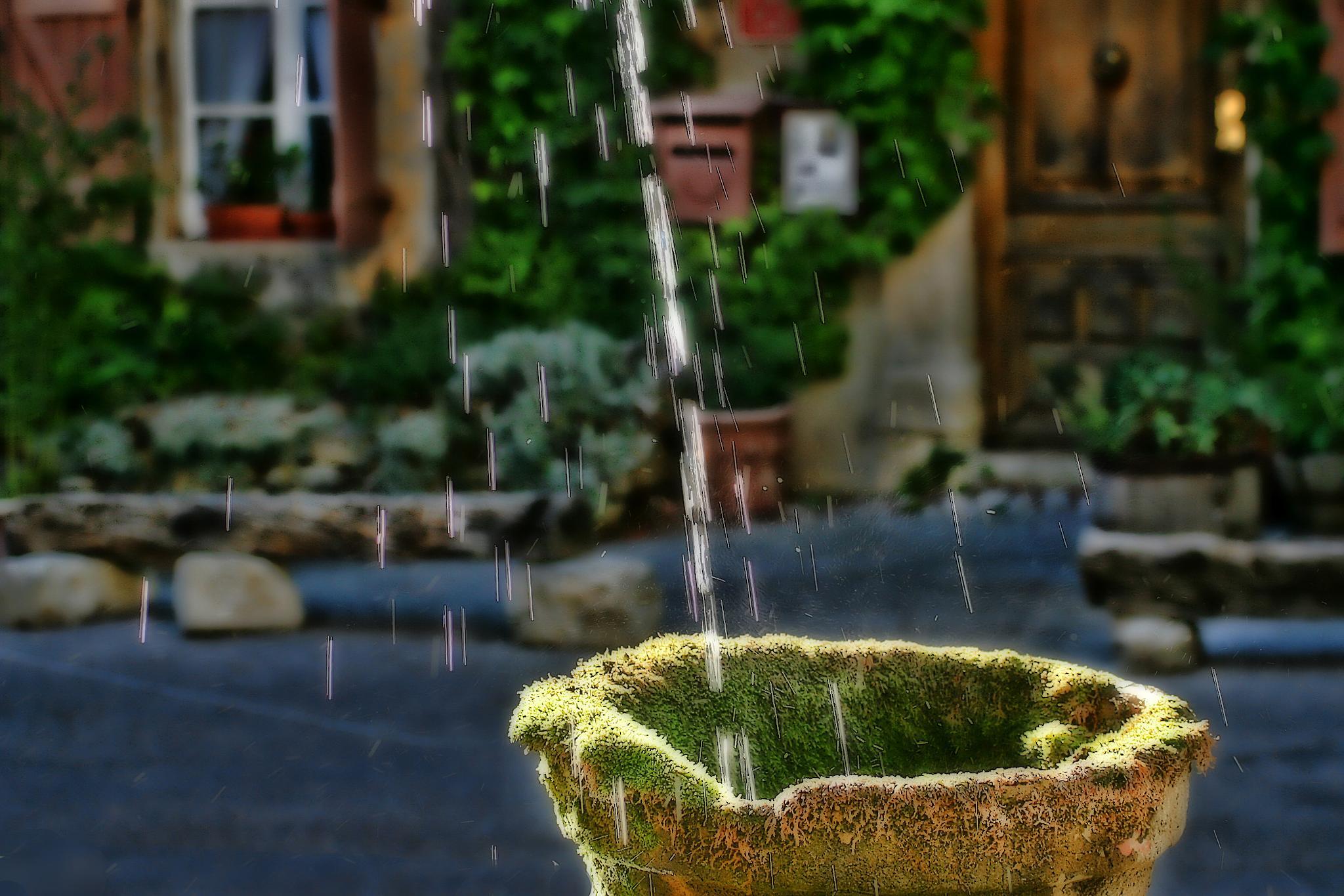 Refreshing water by regzech