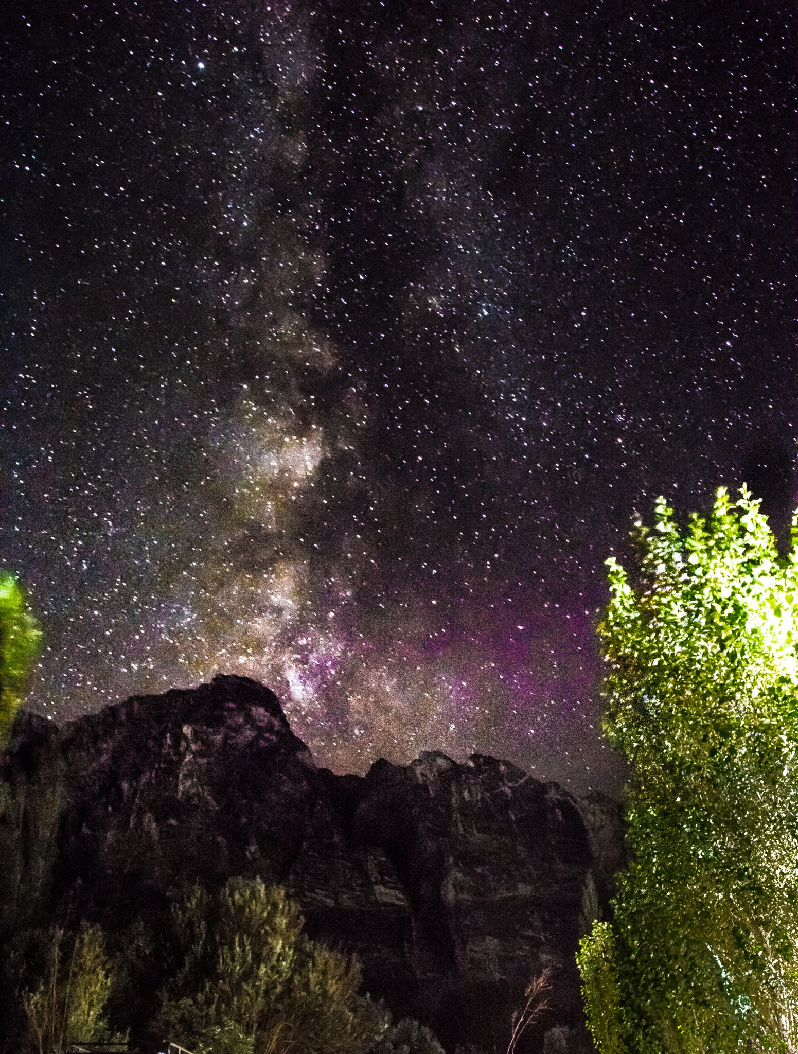 milky way by photography by a rookie