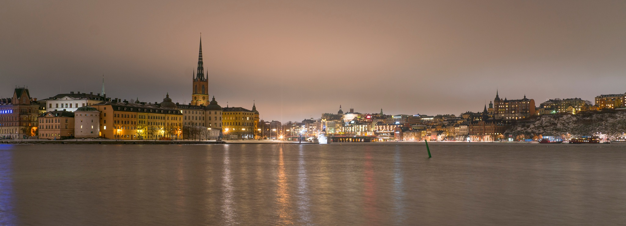 Stockholm by Night by rickyban_Photography