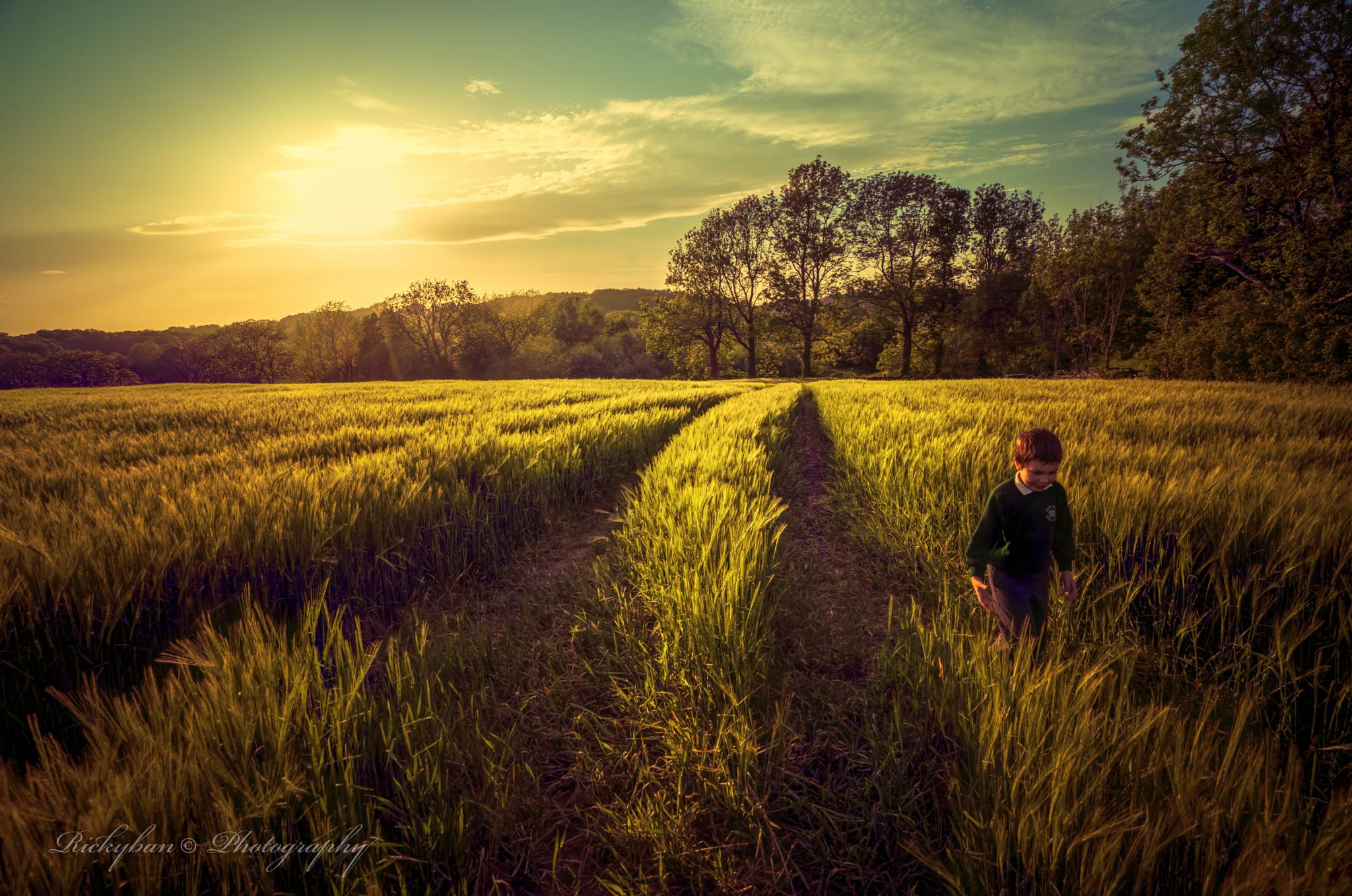 Evening walk by rickyban_Photography