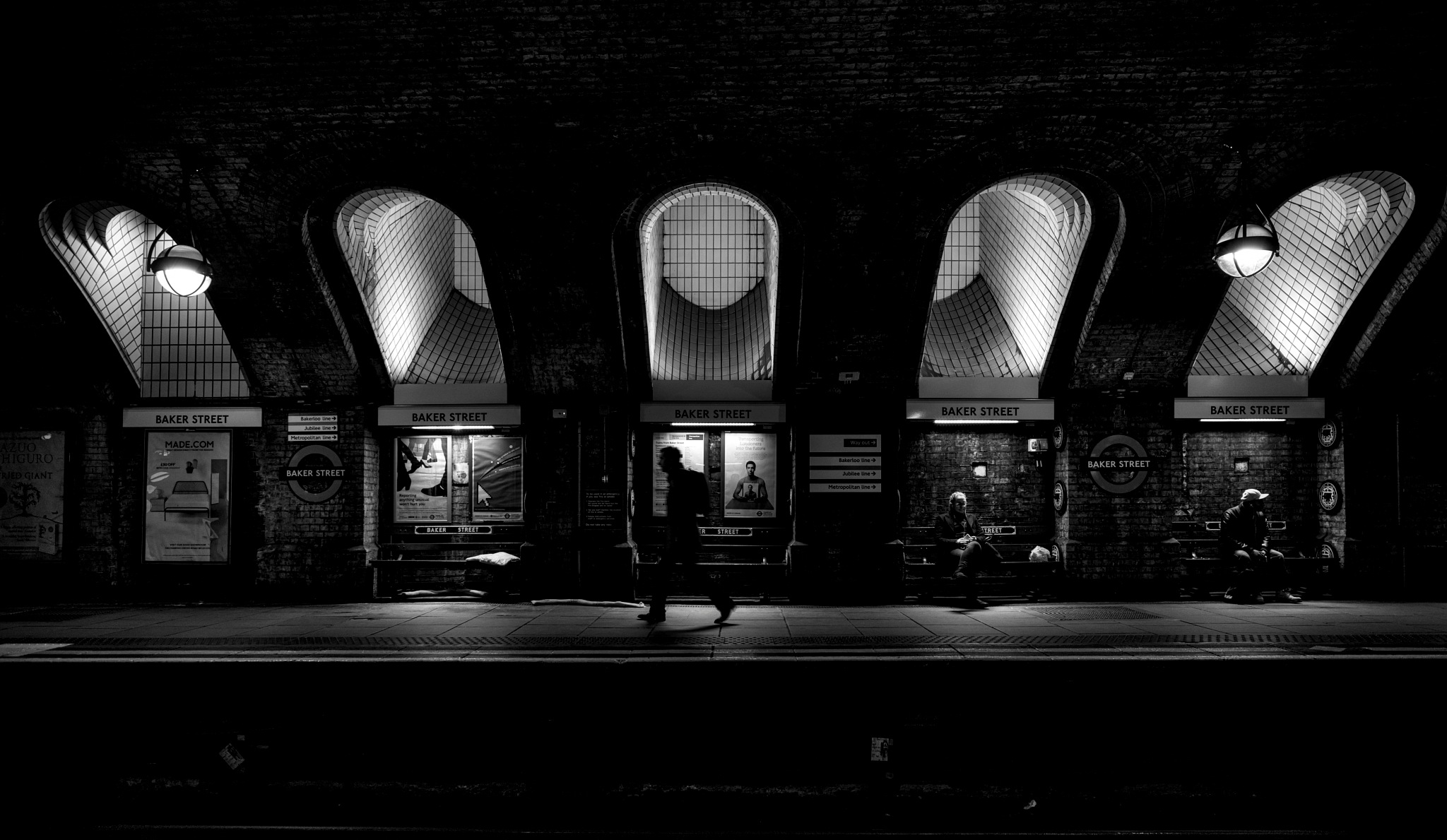 Baker Street Shadows by rickyban_Photography