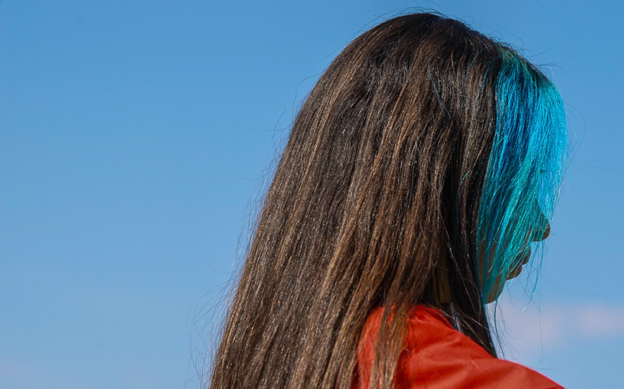 Blue, Hair by mpayler