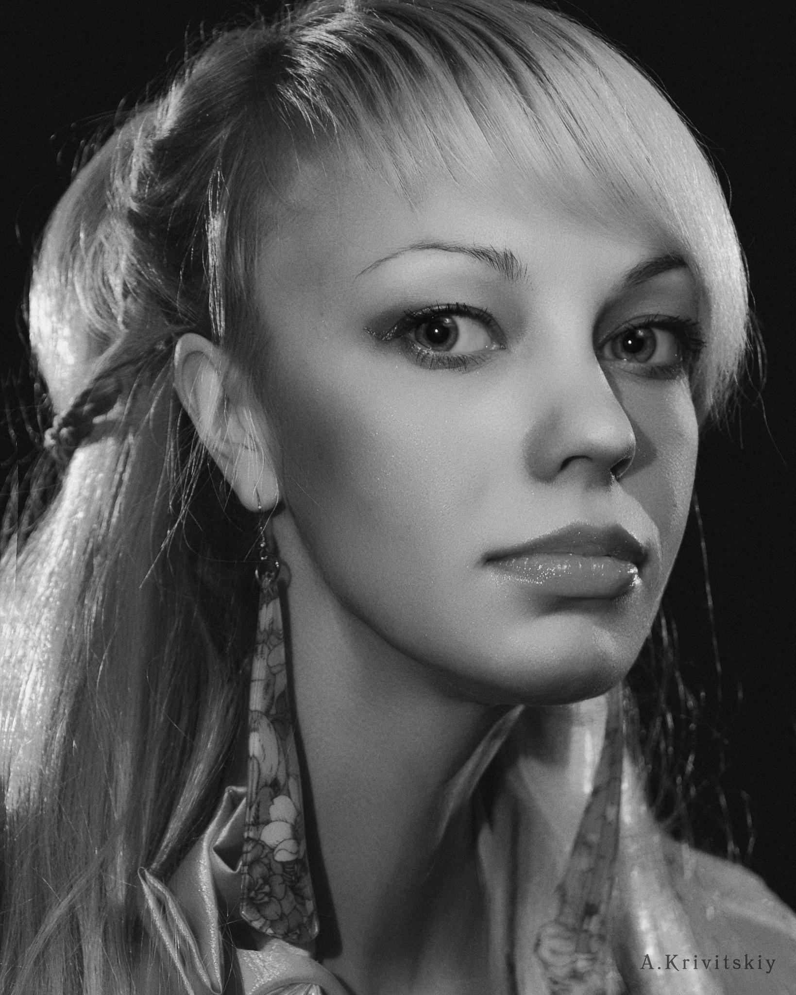 Glamorous Portrait. Photo theater. (Professor A. Krivitsky found that girls like GLAMOR and that GLA by krivitskiy