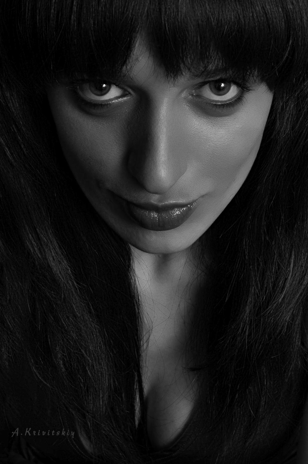 Портрет. Portrait. by krivitskiy