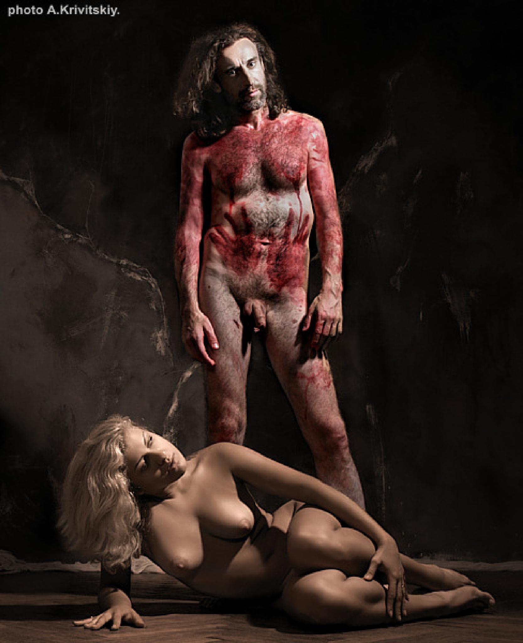 The image object, phenomenon, depicting someone sth .. by krivitskiy