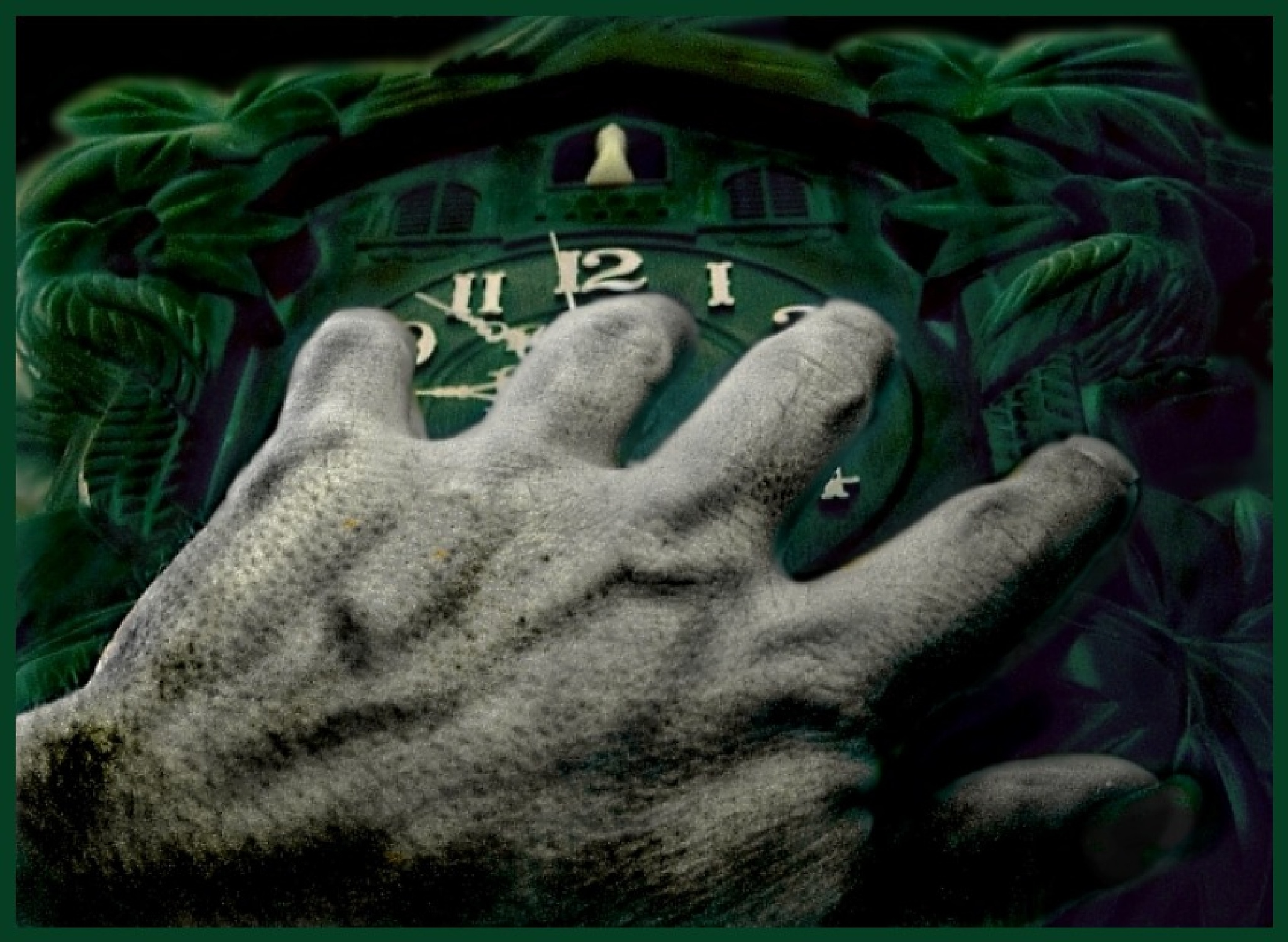 Time hand. by krivitskiy