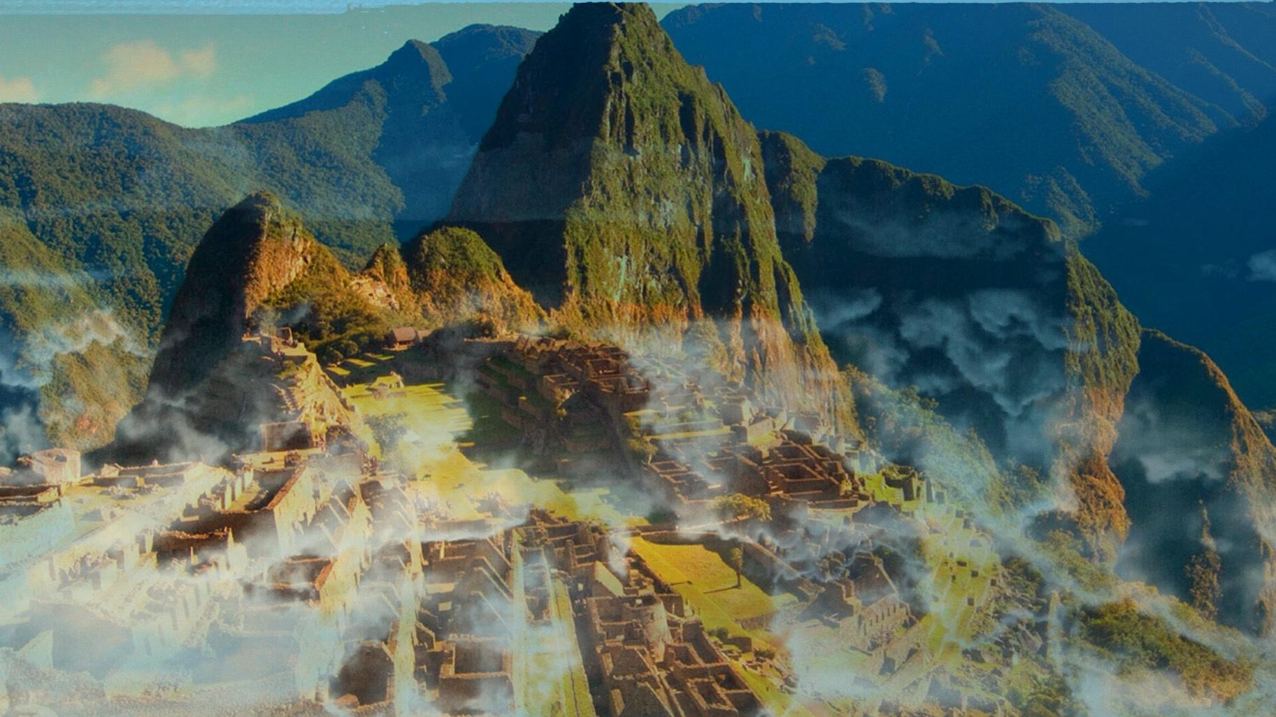 ancient mountains  by edd gemini