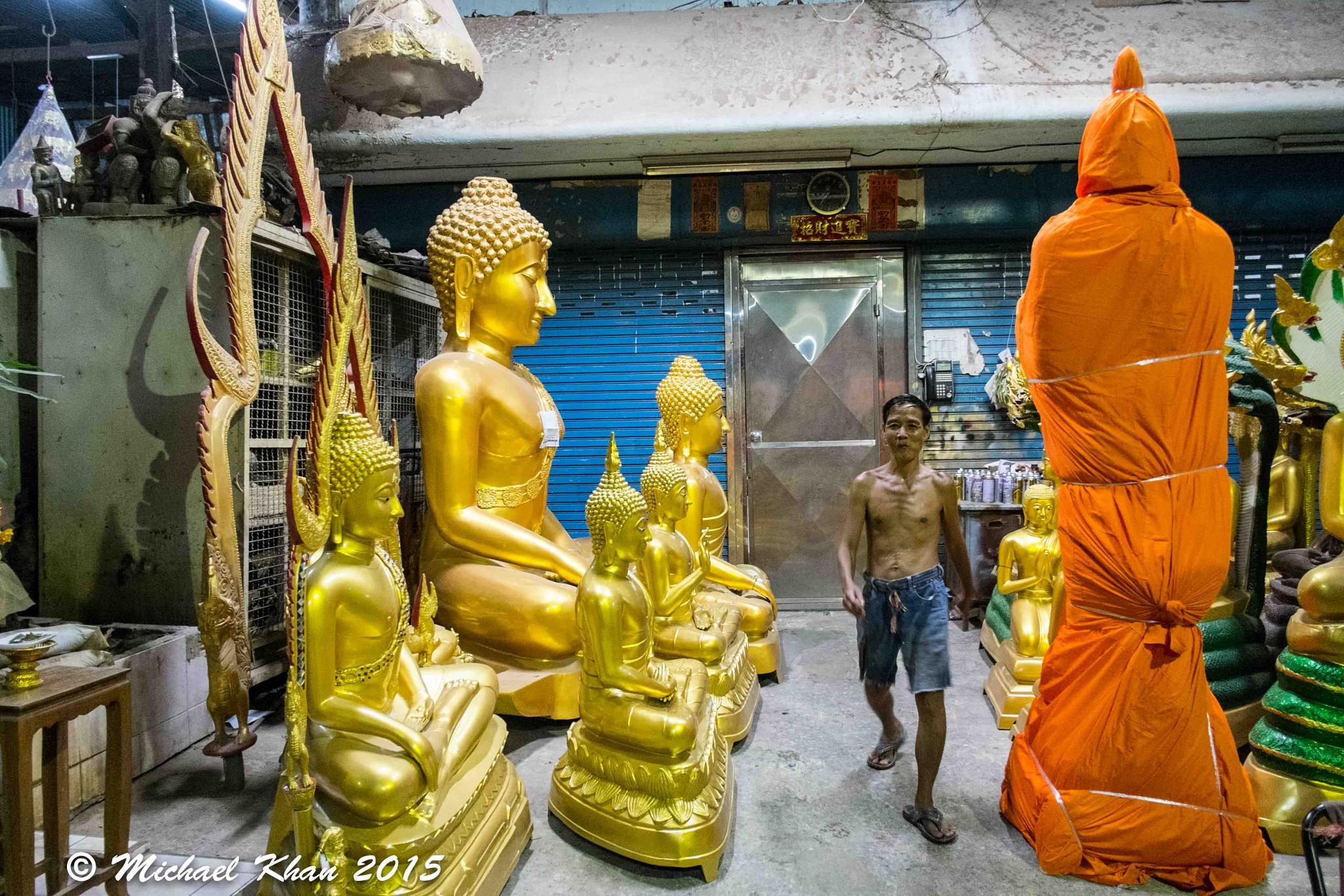 Buddha alley by Michael Khan