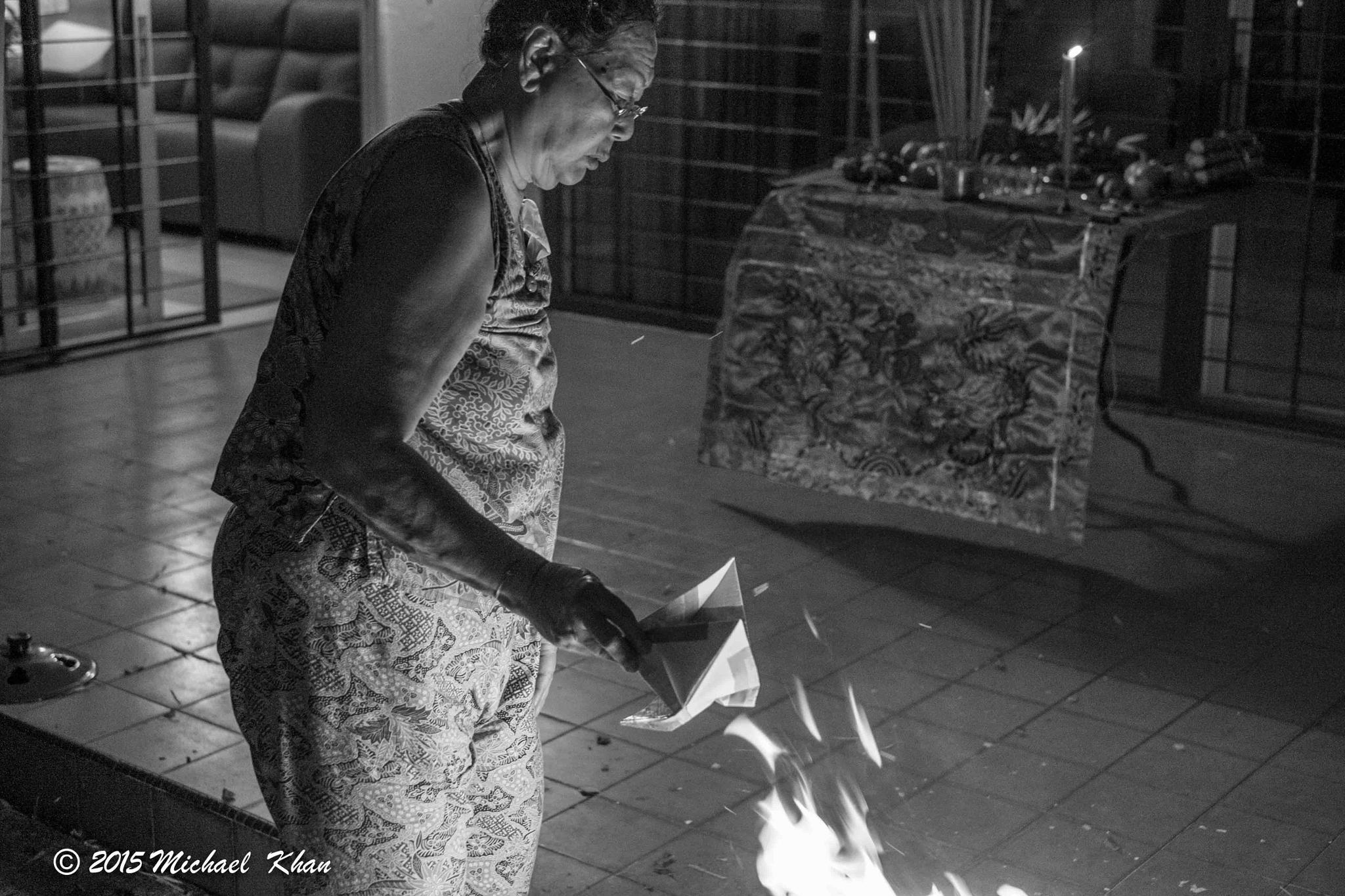 ghost festival by Michael Khan
