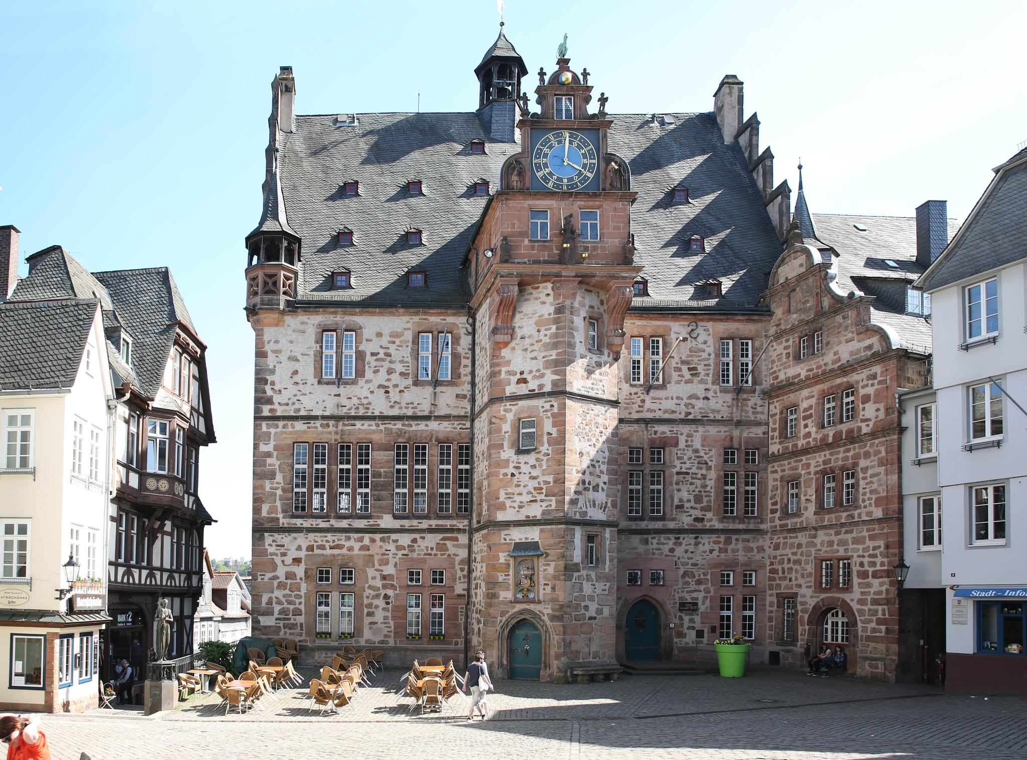 Rathaus Marburg DE by Felix Jean Touboul