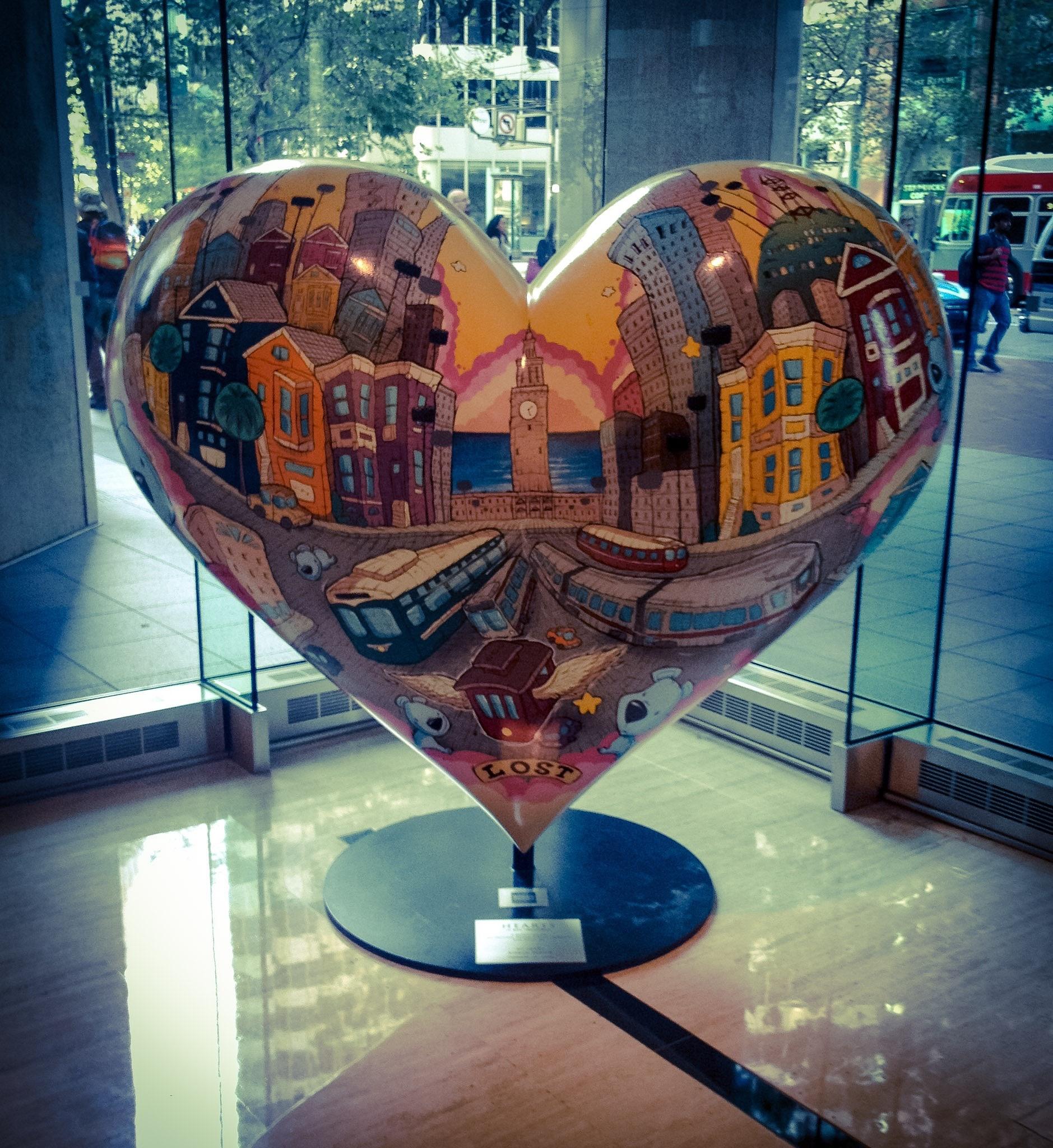 Whimsical Heart by RS DiBona