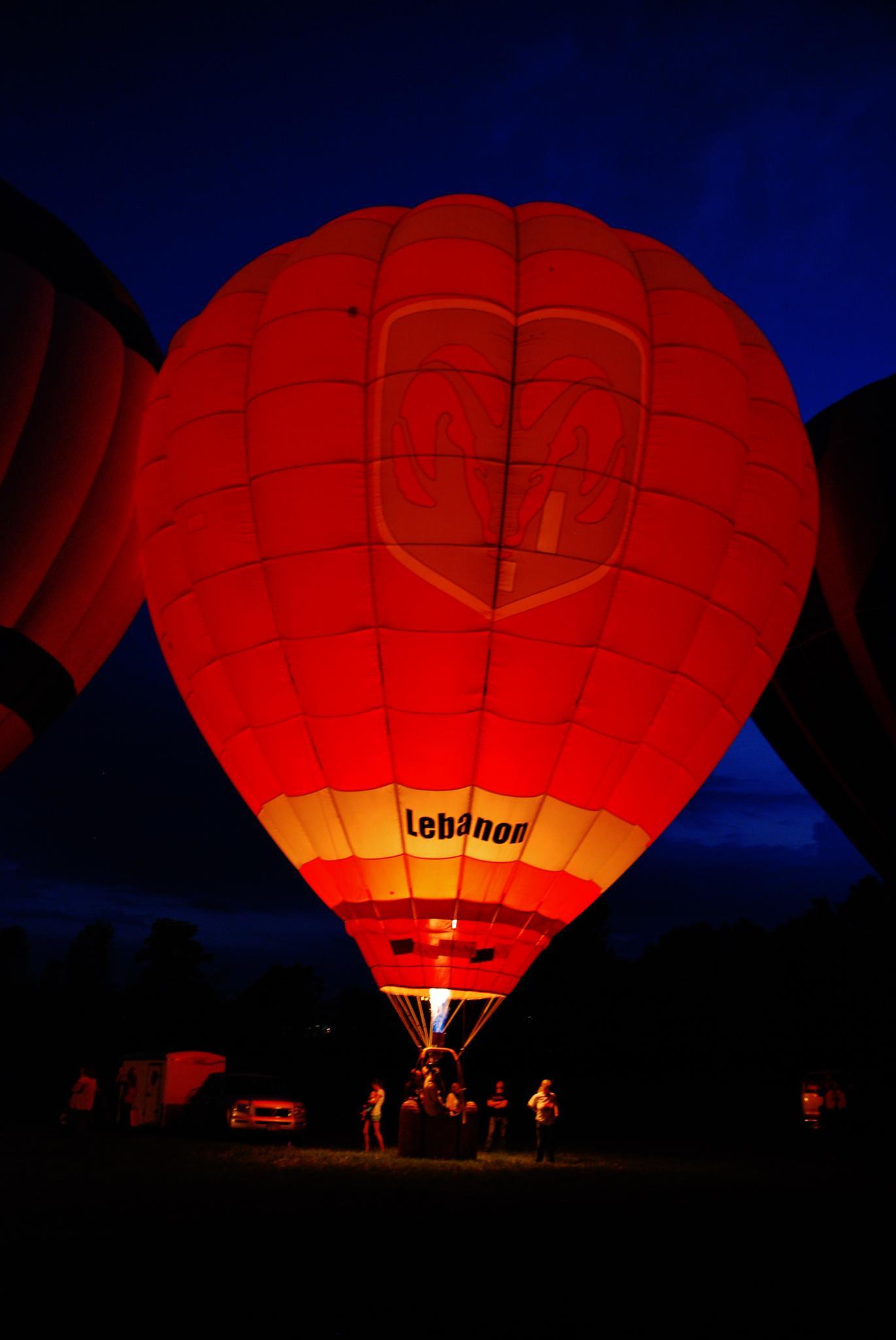 Hot Air Balloon by Doug Fosnight