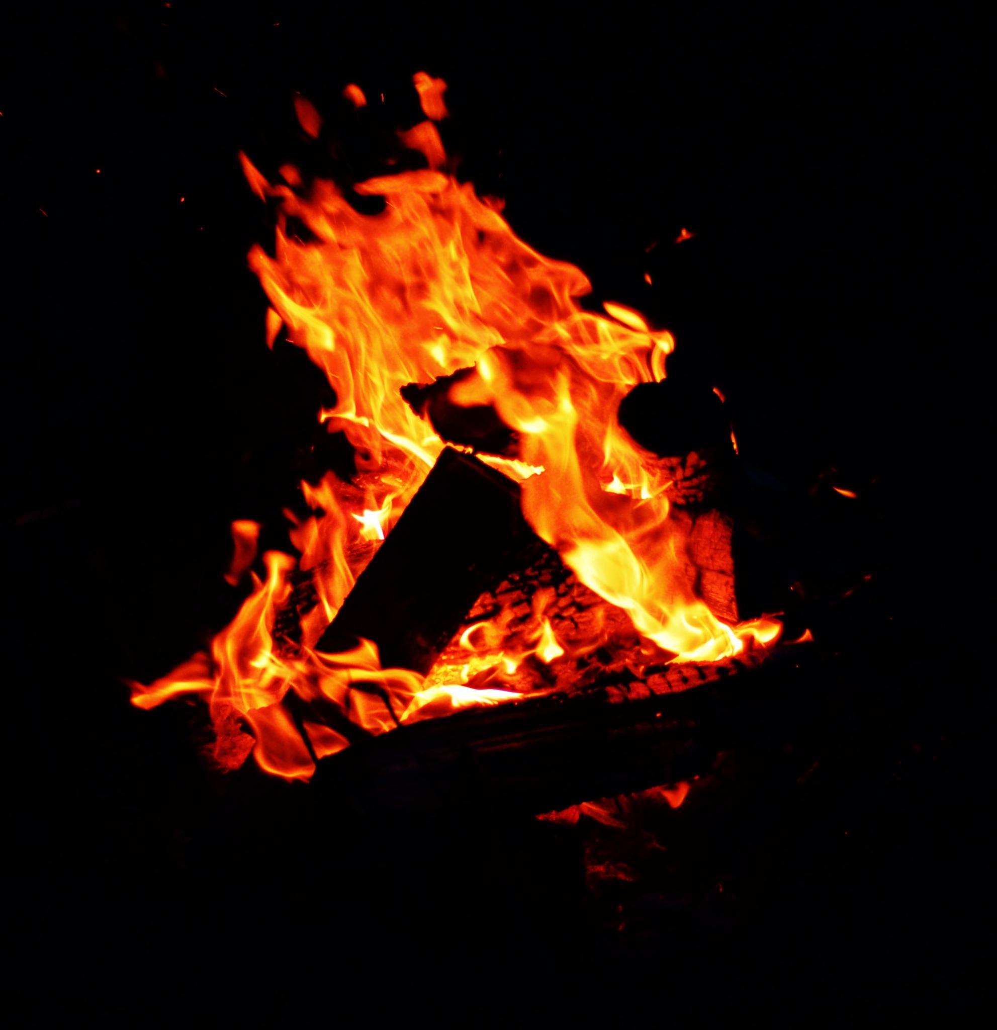 Camp Fire by Doug Fosnight