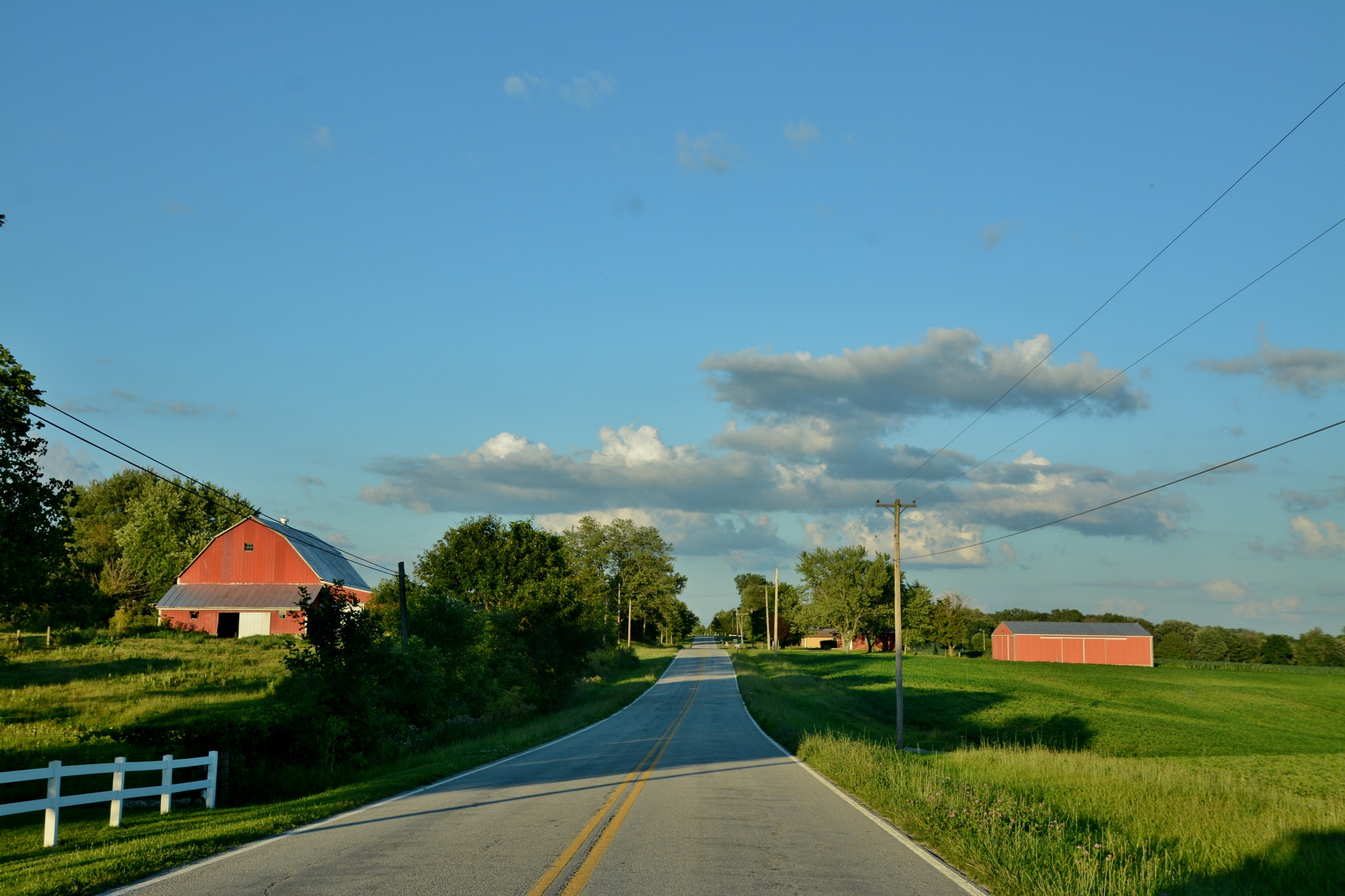 Country road by Doug Fosnight