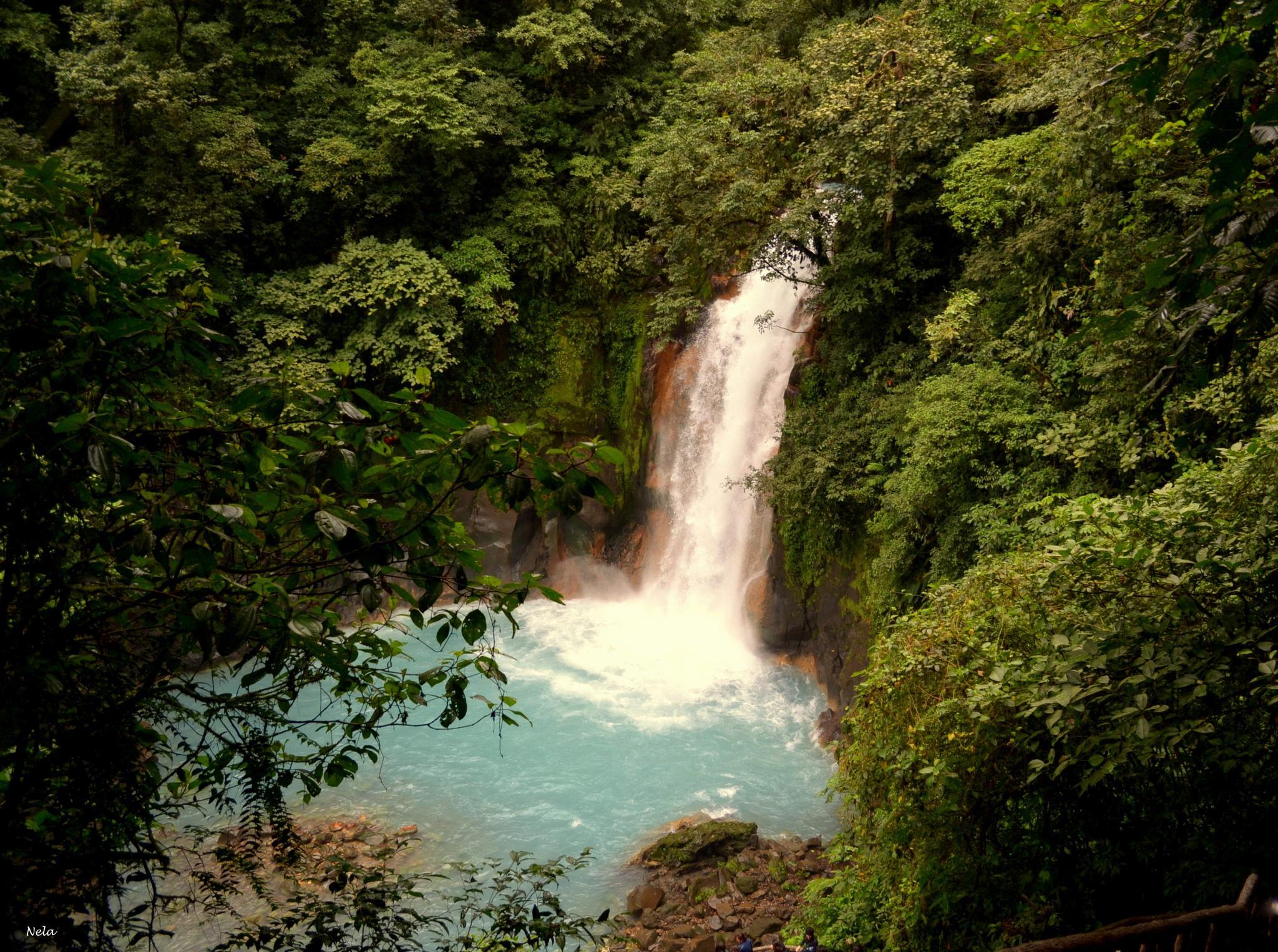 Catarata Río Celeste 2 by nela65