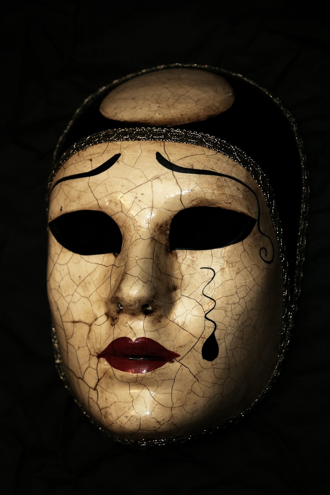 Venecian mask by Federico Molino