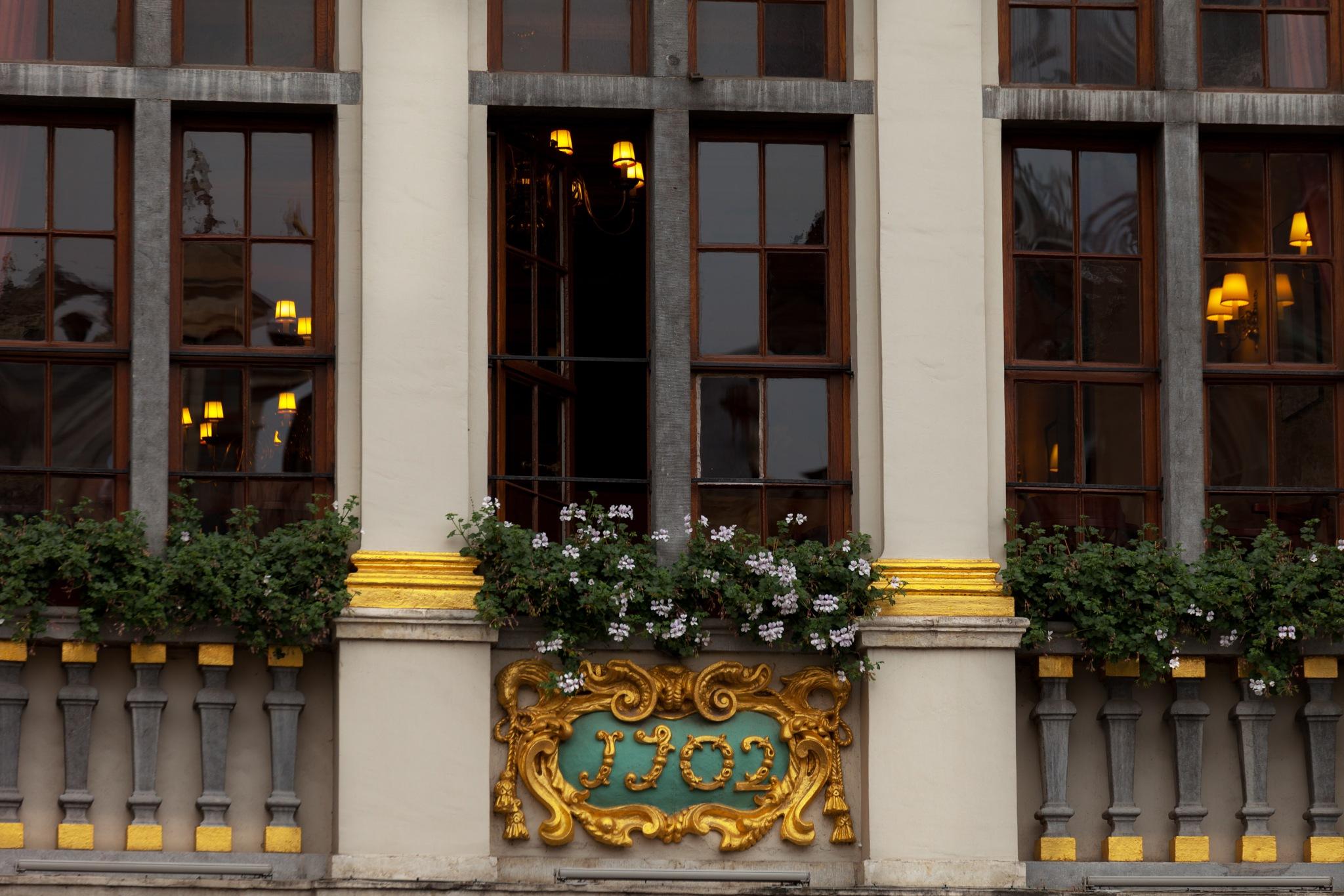 windows of Brussels by Elena Krauze