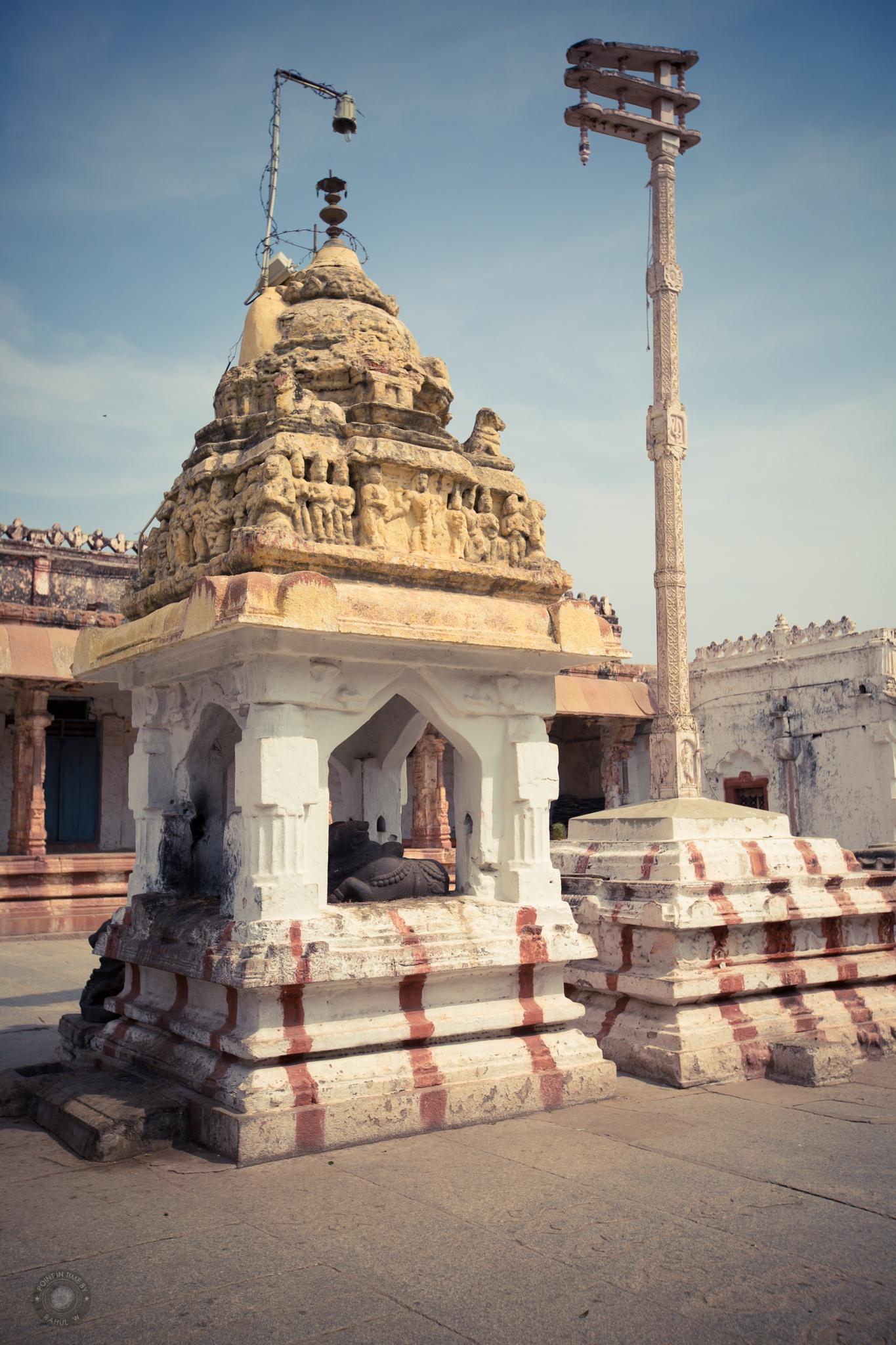 Virupaksha Temple Nandi by Rahul Wedpathak