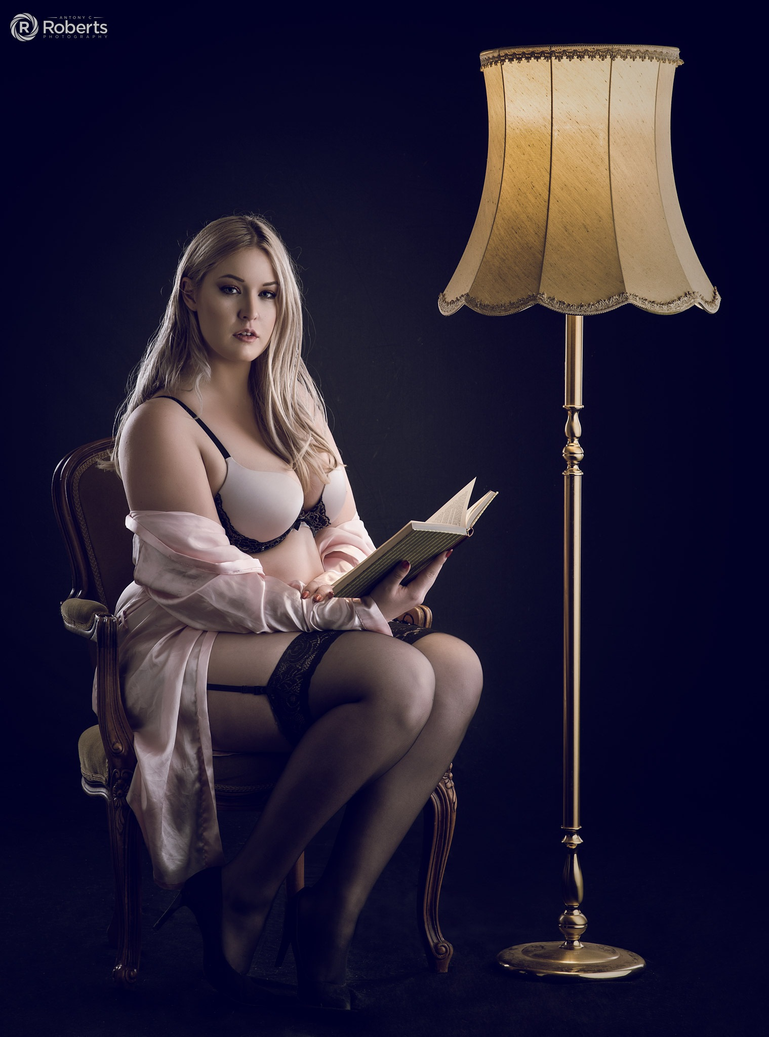 By lamp light by Antony Roberts