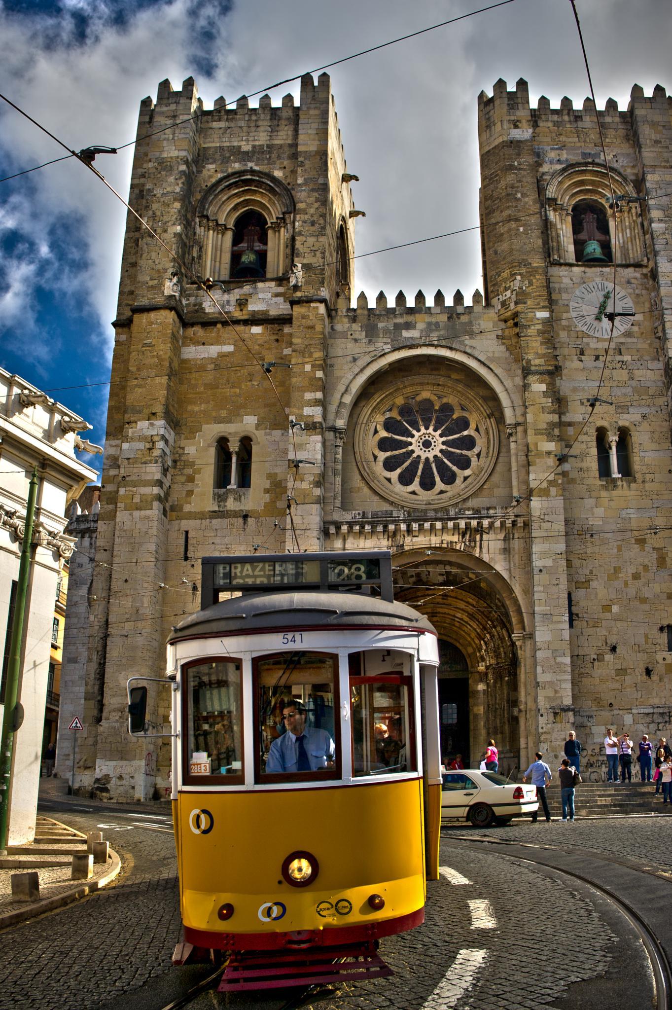 Portuguese Tram by Mark Barrs