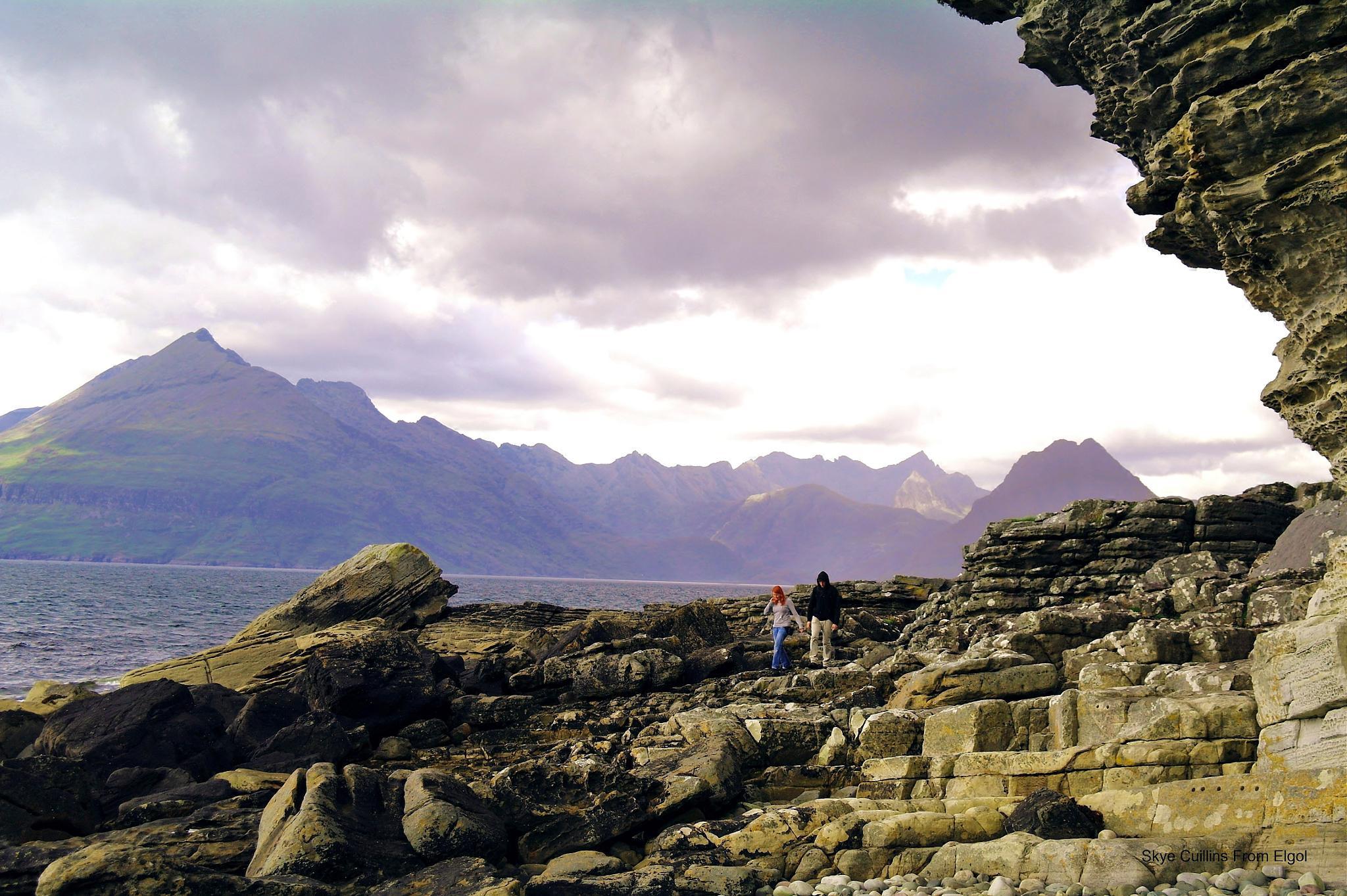 Elgol Isle of Skye by georgeporteous