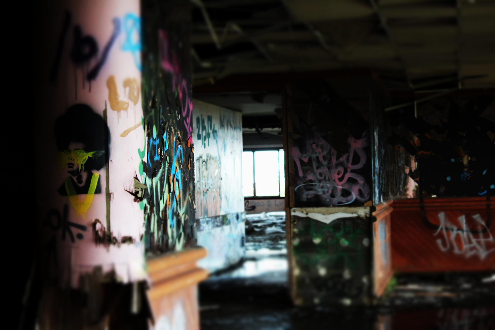 Abandoned Country Club by BeccyleeRichi