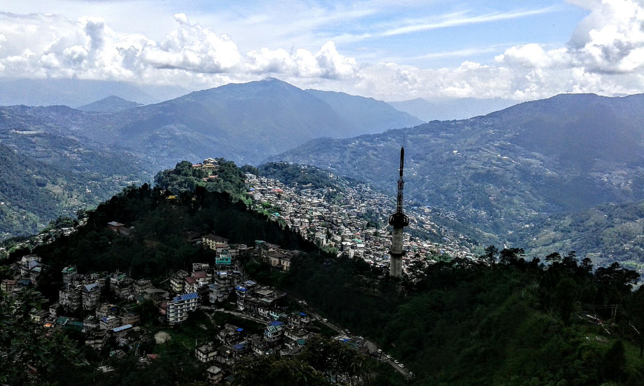 Gangtok  by Suman Panjal