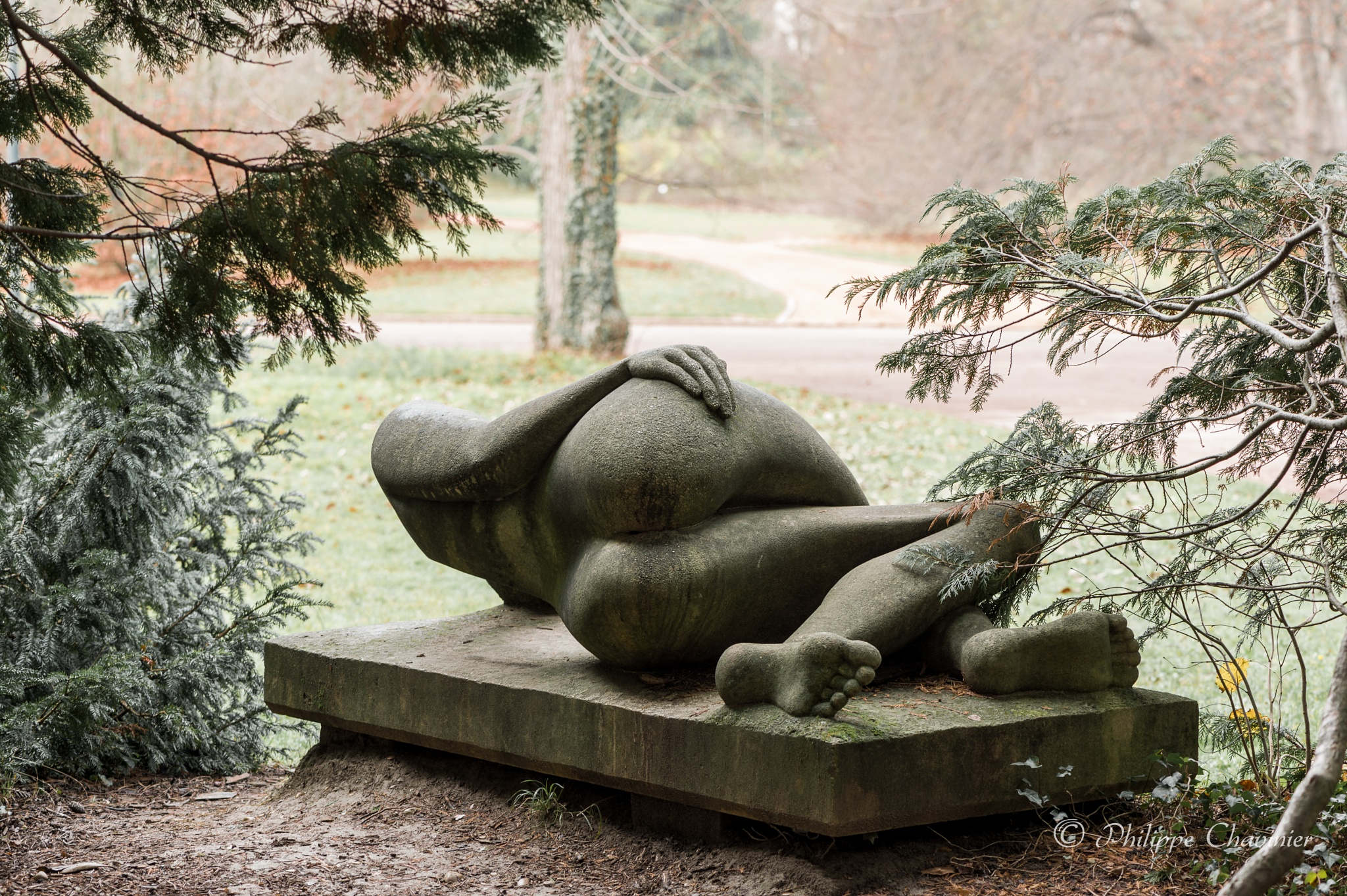 What a pity it's made of stone ! by Philippe Chavinier
