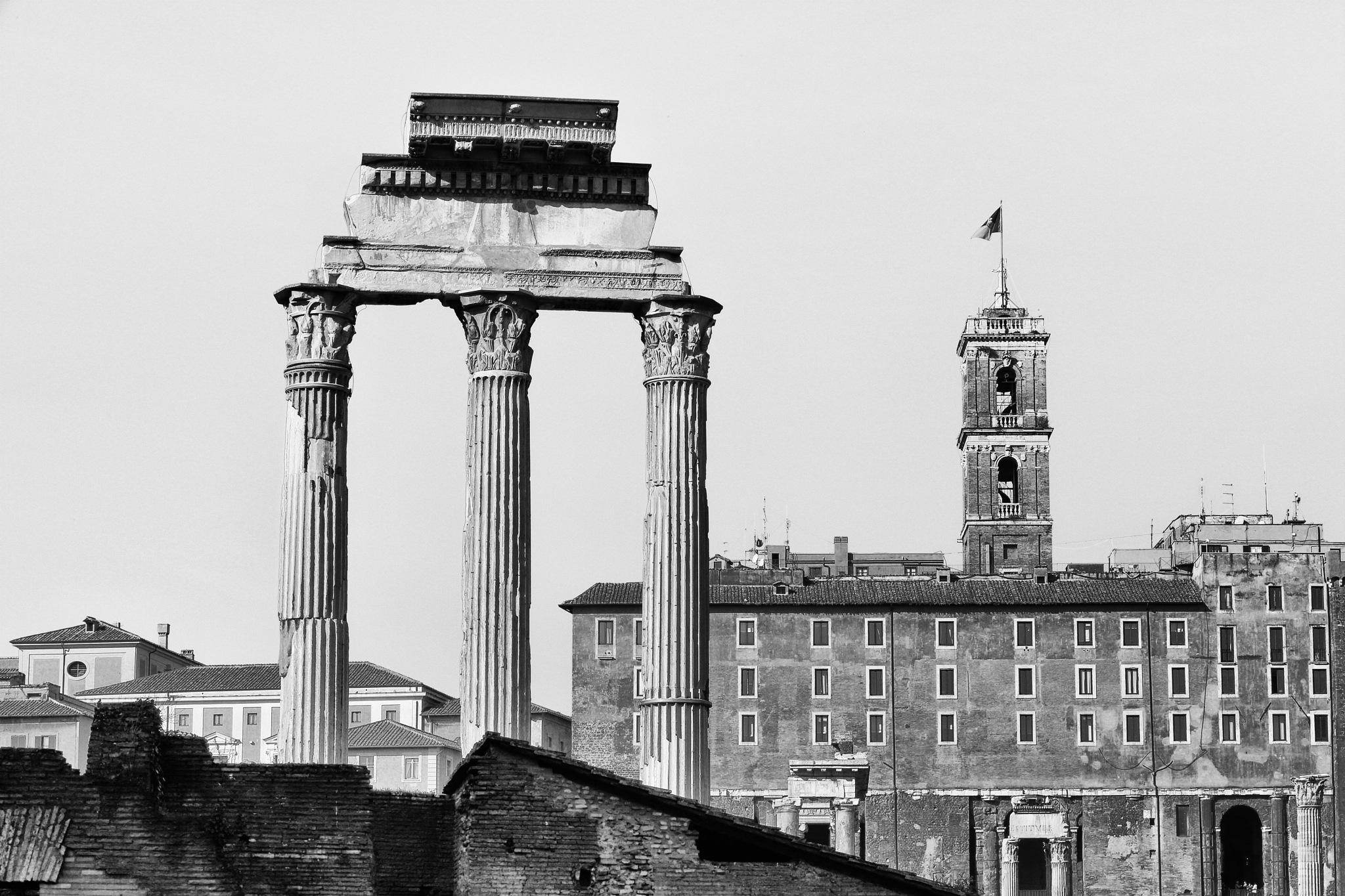Monuments (Roman Forum) by leecj0129
