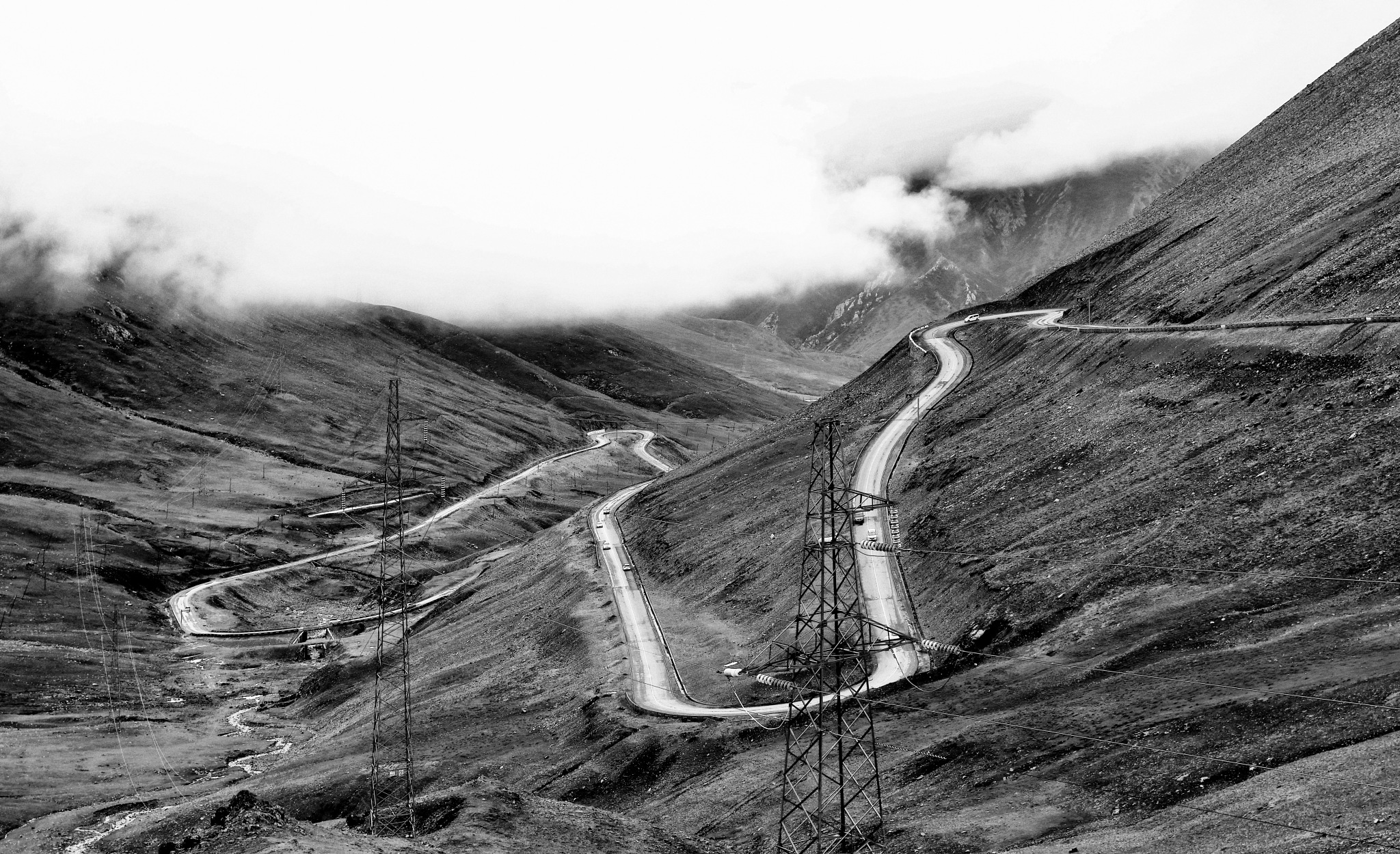 Mountain road by leecj0129