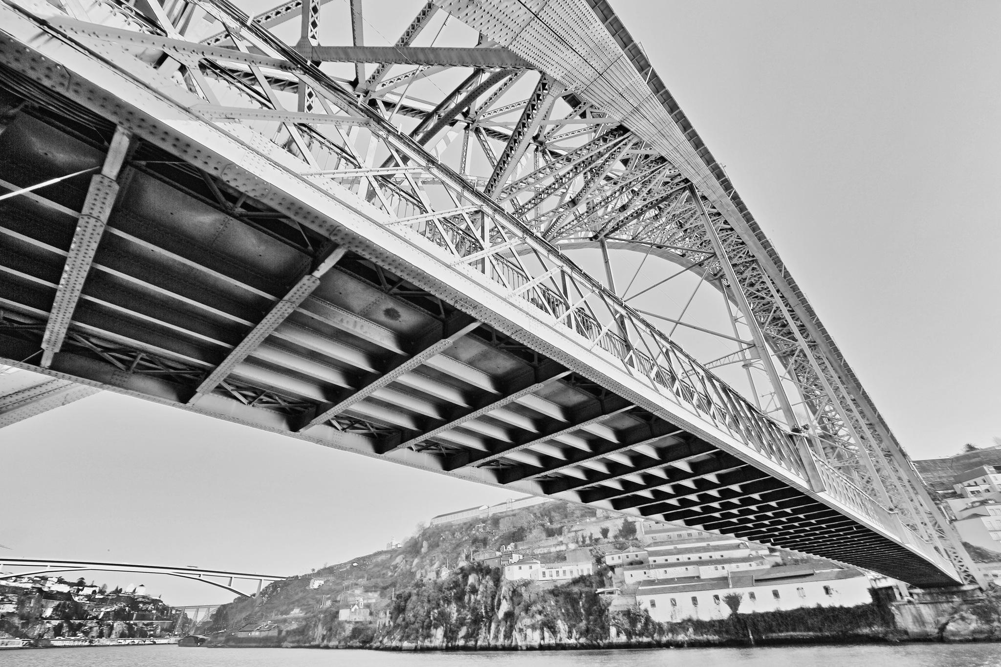 Dom Luís I Bridge in Porto by leecj0129