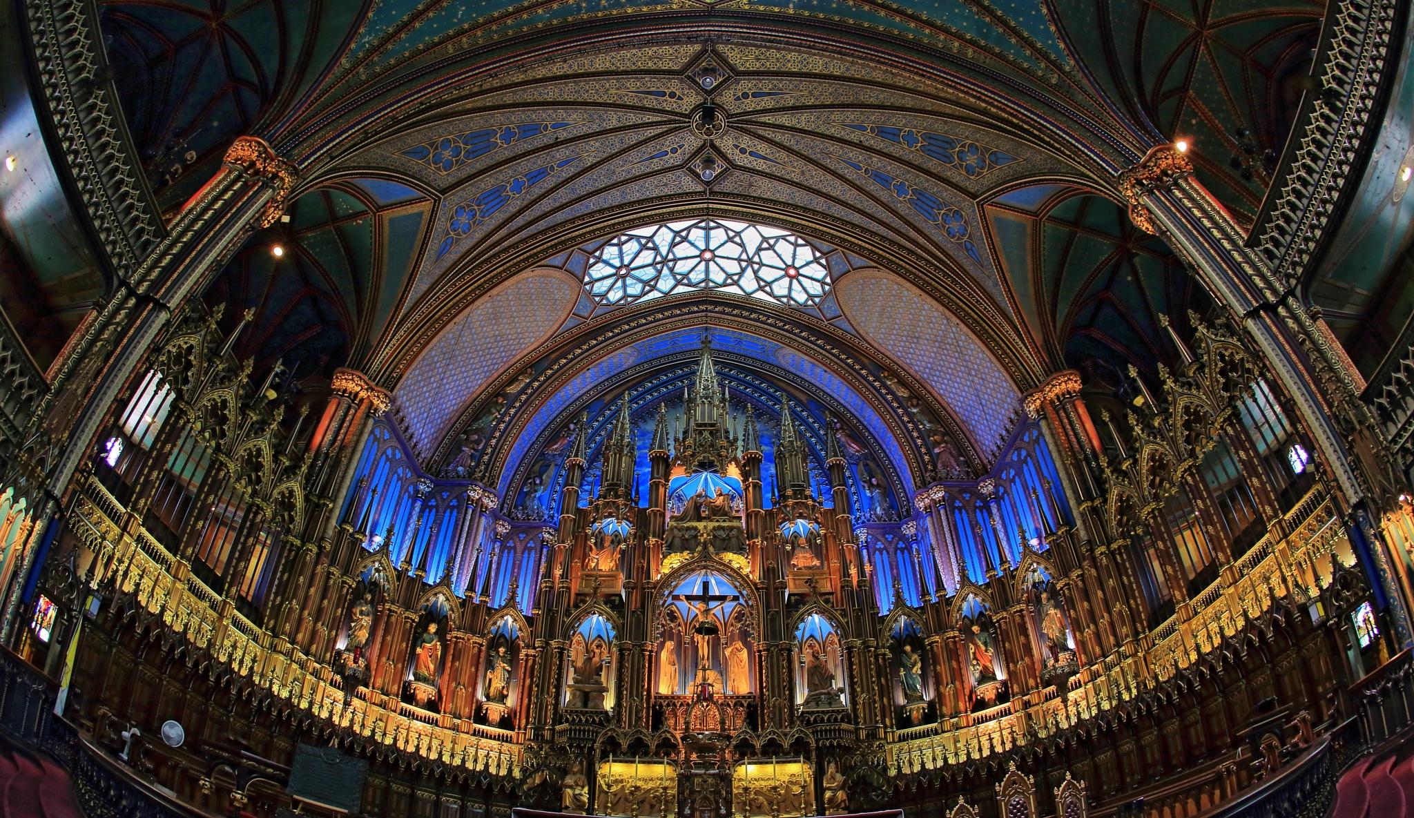 Notre-Dame Basilica (Montreal) by leecj0129