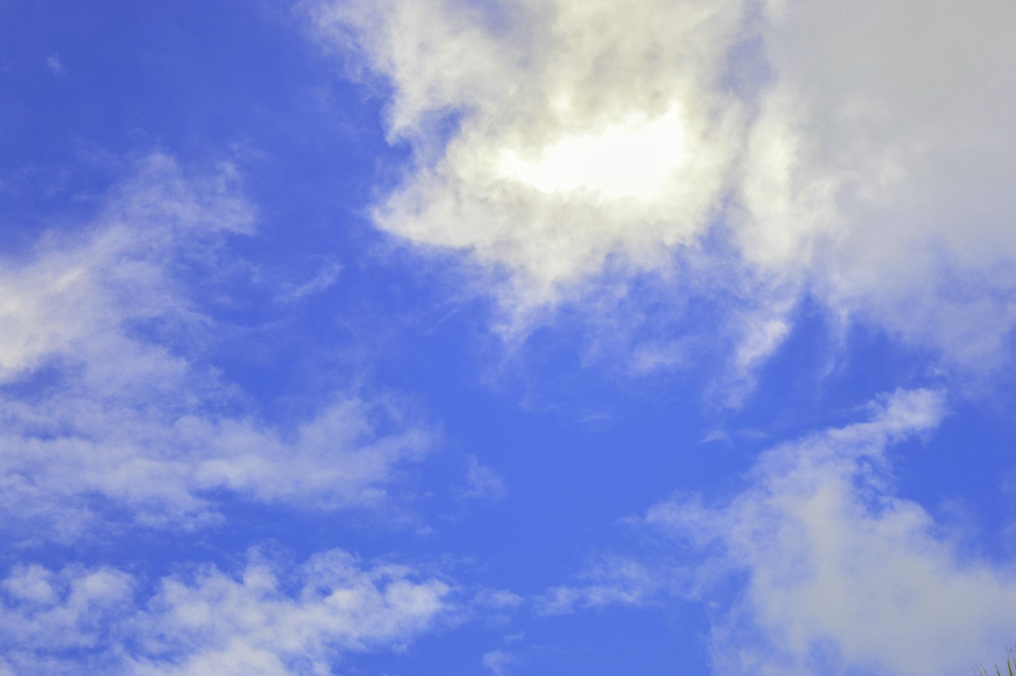 Blue Sky by HABEEB RAHMAN