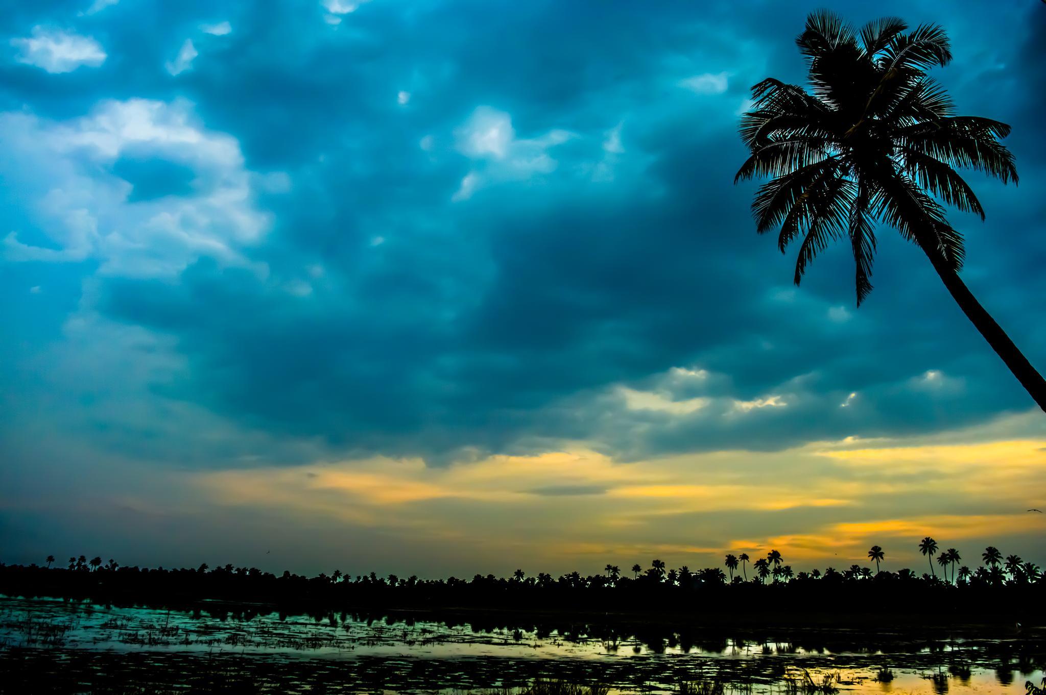 Sunset by HABEEB RAHMAN