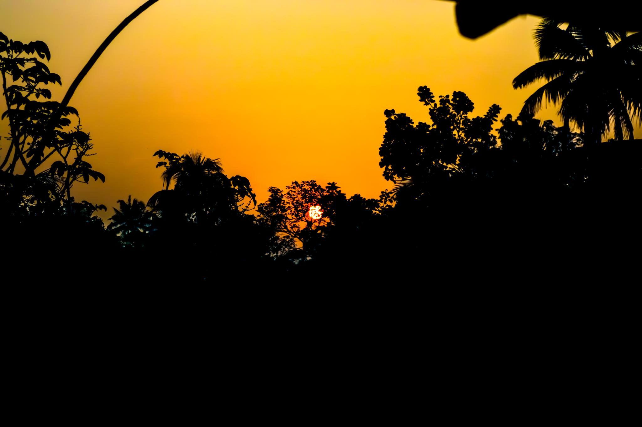 Sunrise by HABEEB RAHMAN