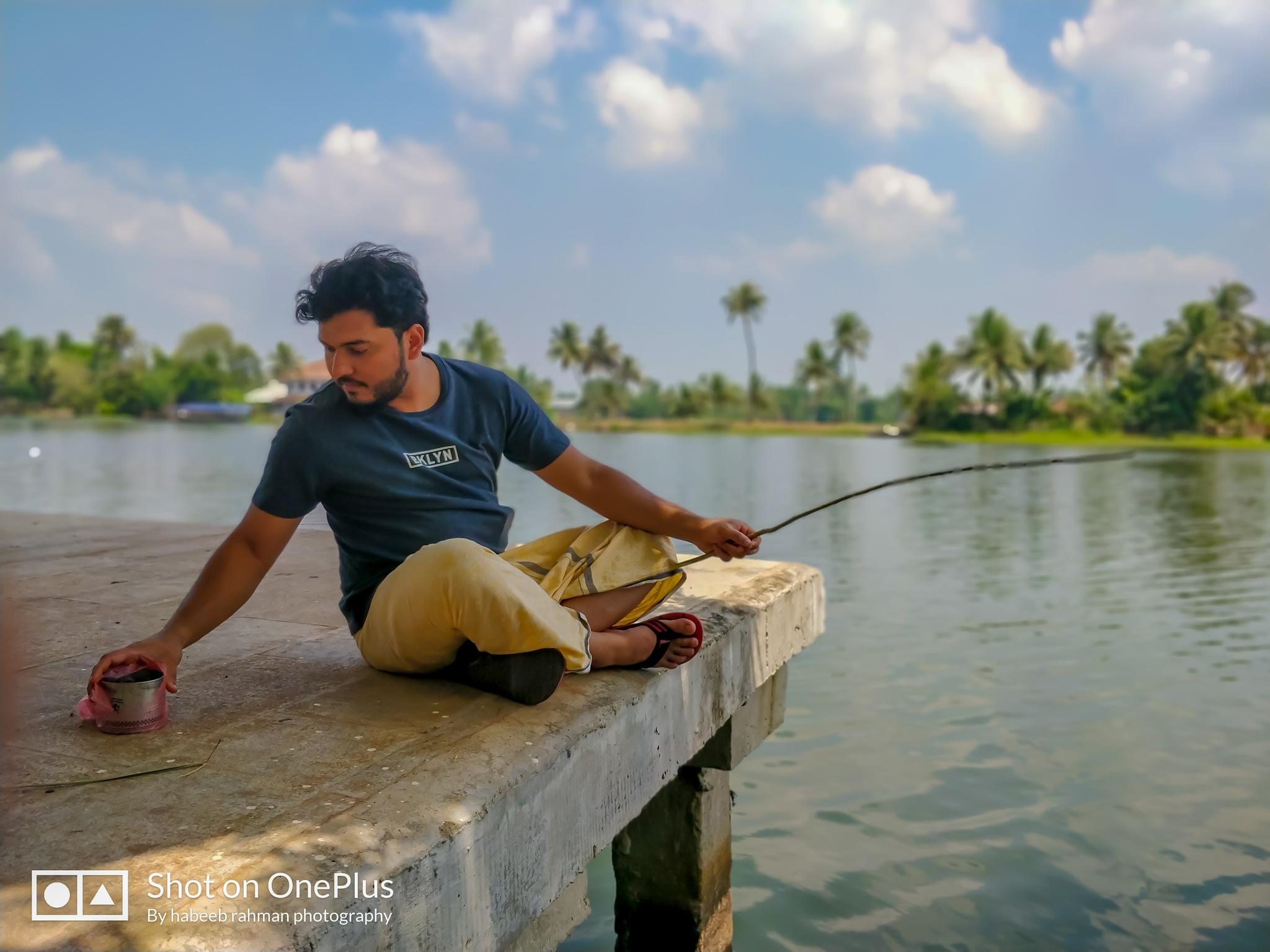 Fishing by HABEEB RAHMAN