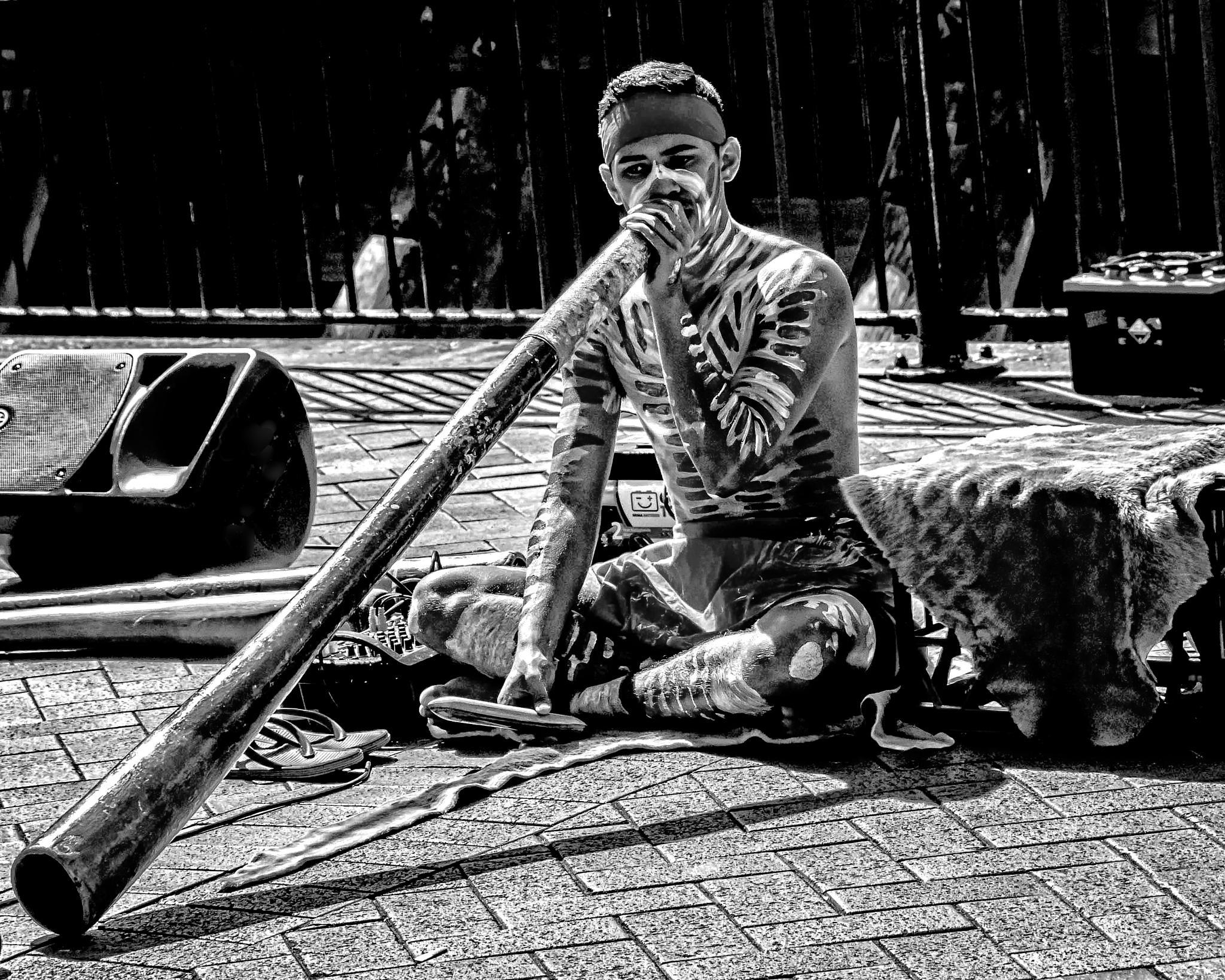 Didgeridoo Man by PattyK