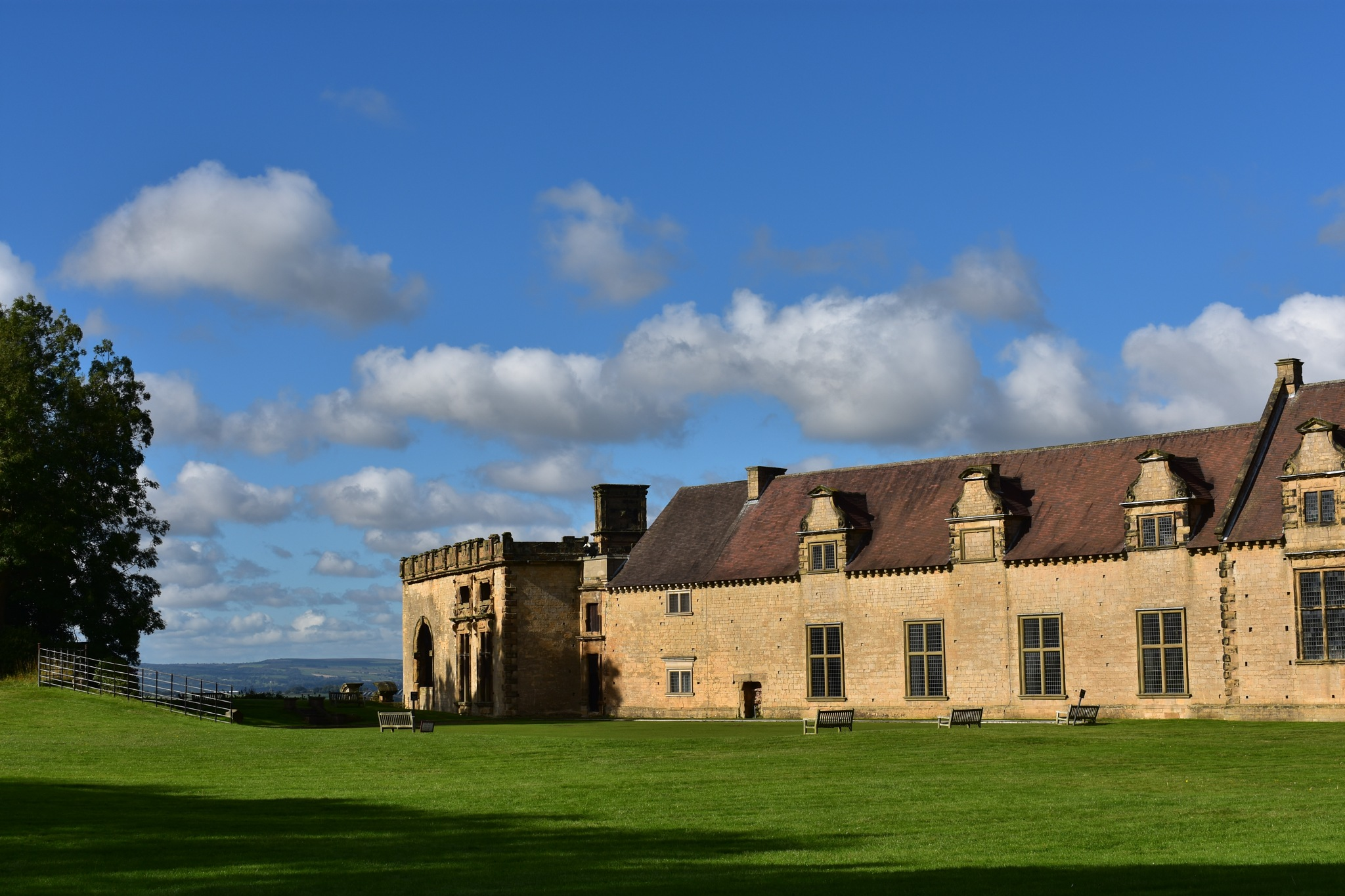 Bolsover castle by declan delaney