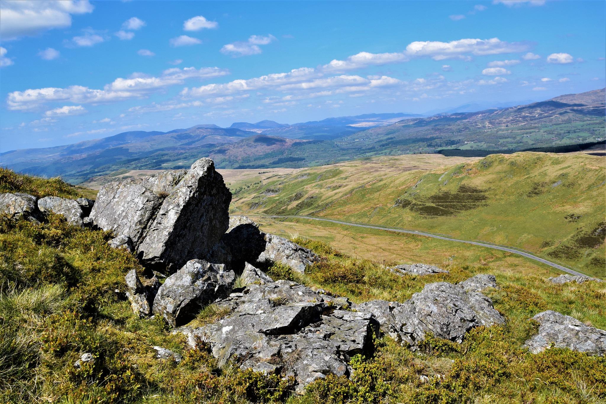 Rocky outcrop by declan delaney