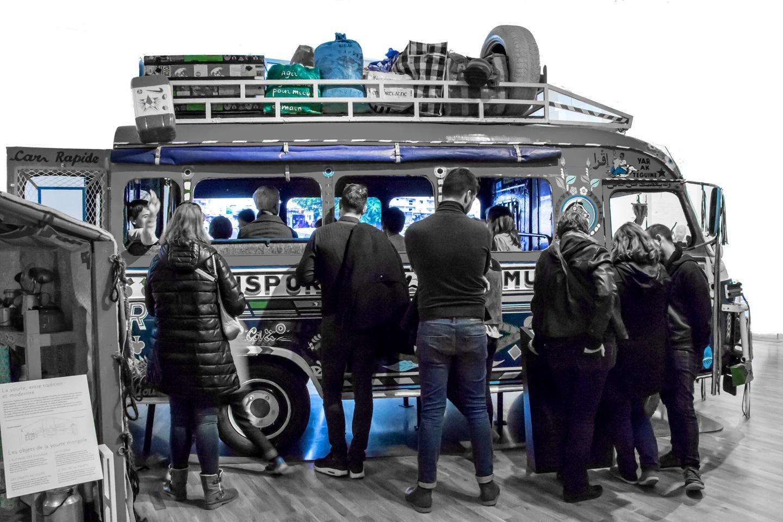 Public transportation by Stephanie Herault