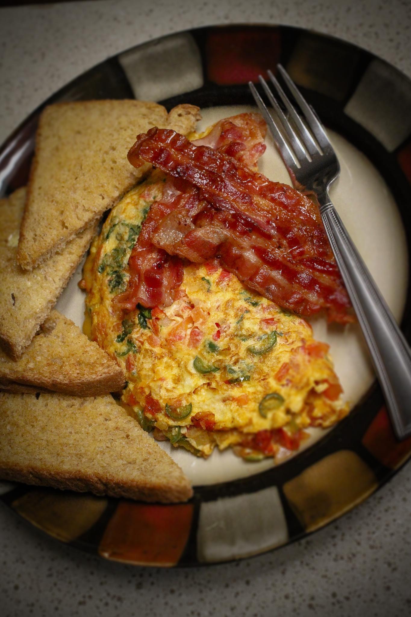 Omelette Ready to Eat by Adela Garza Mendoza