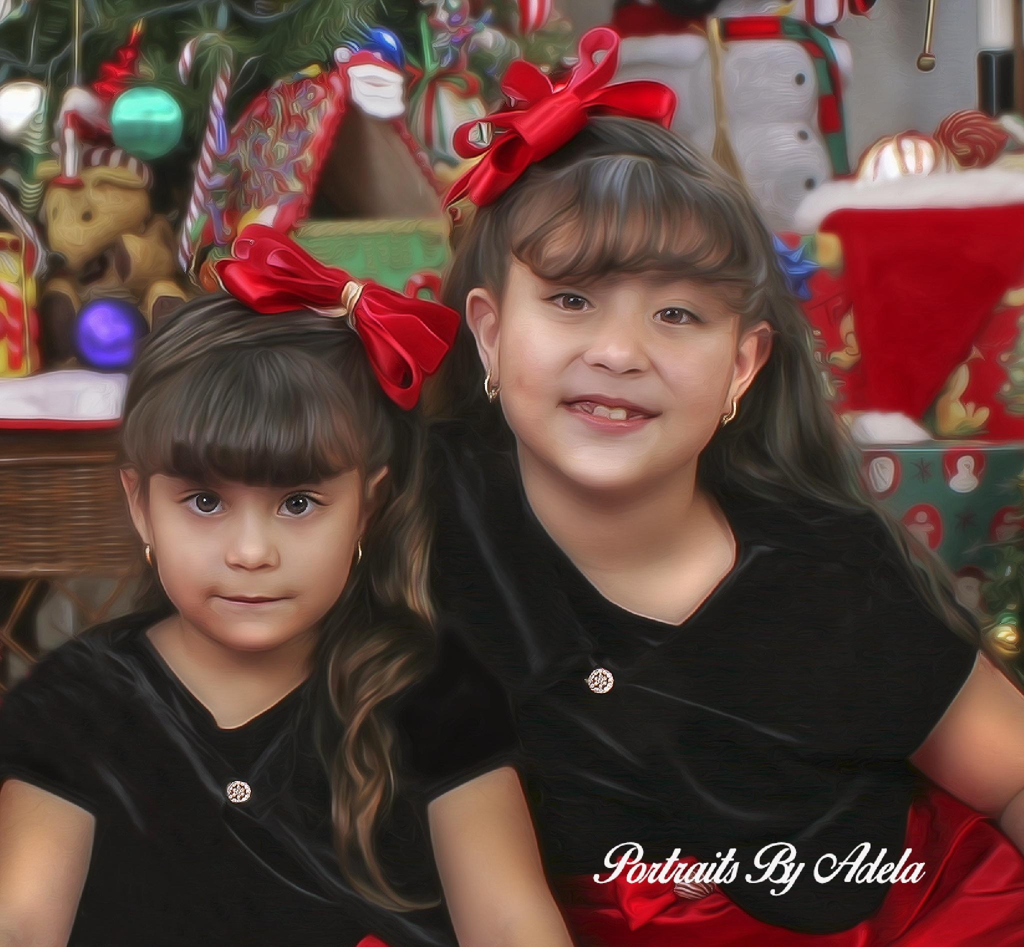 Portraits By Adela by Adela Garza Mendoza