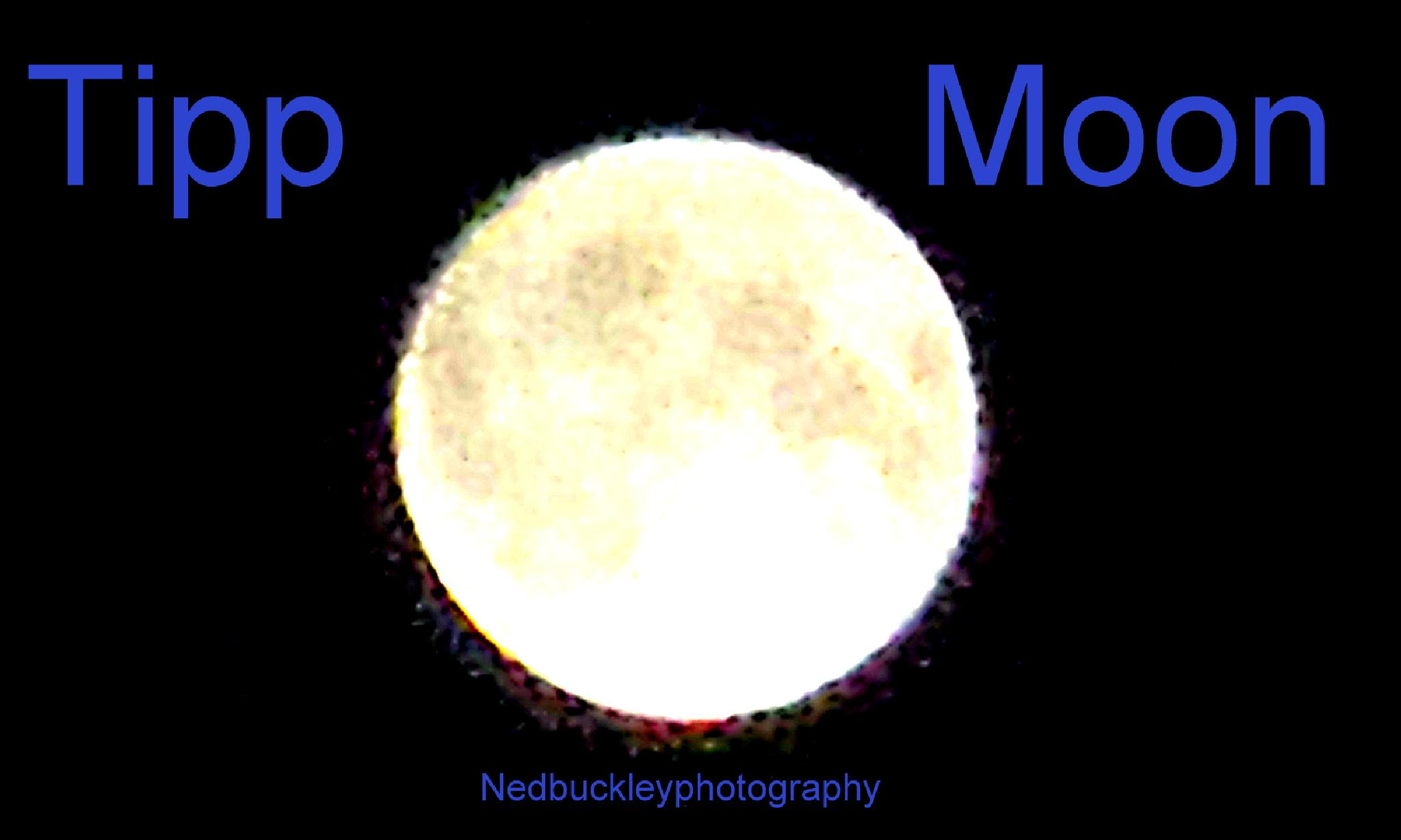 The Moon by Nedbuckleyphotography