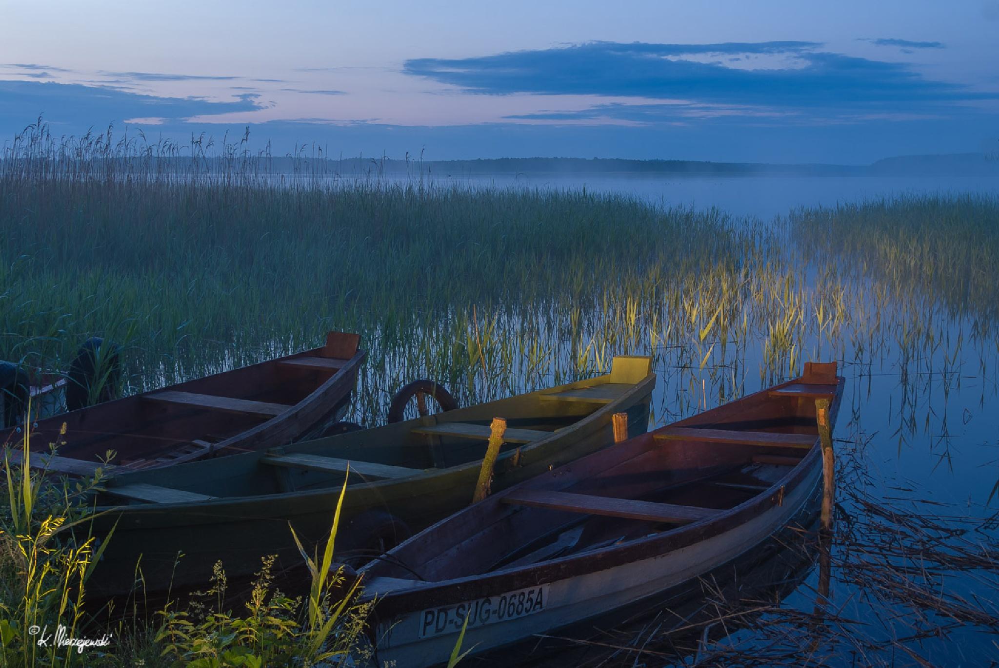 Before sunrise by Krzysztof Mierzejewski