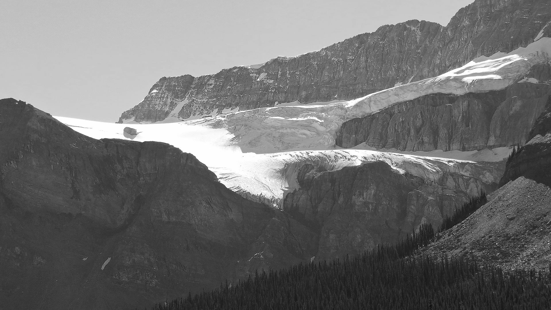 Crowfoot Glacier by tricialpat