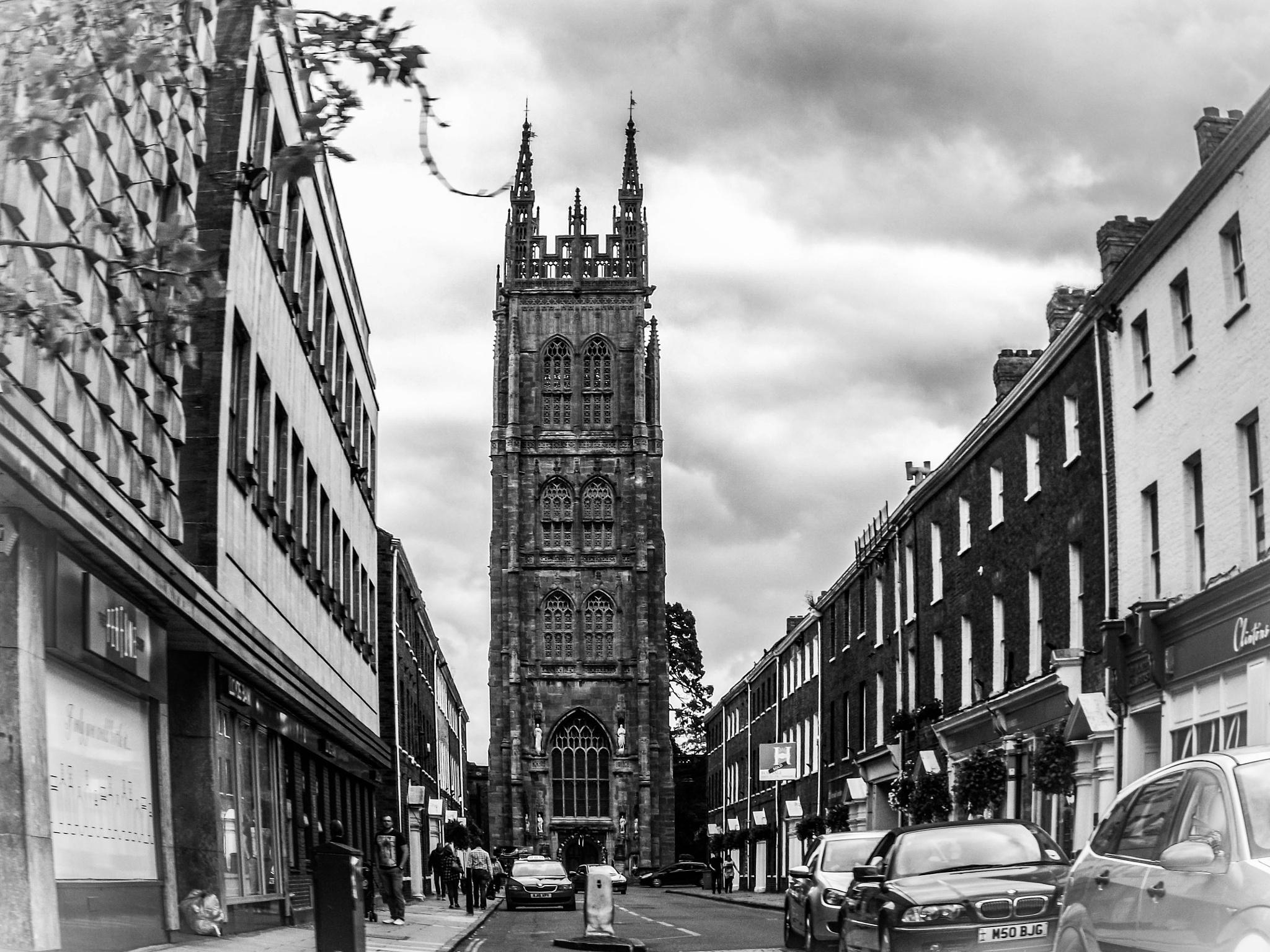imposing church tower by Gemma Sizer