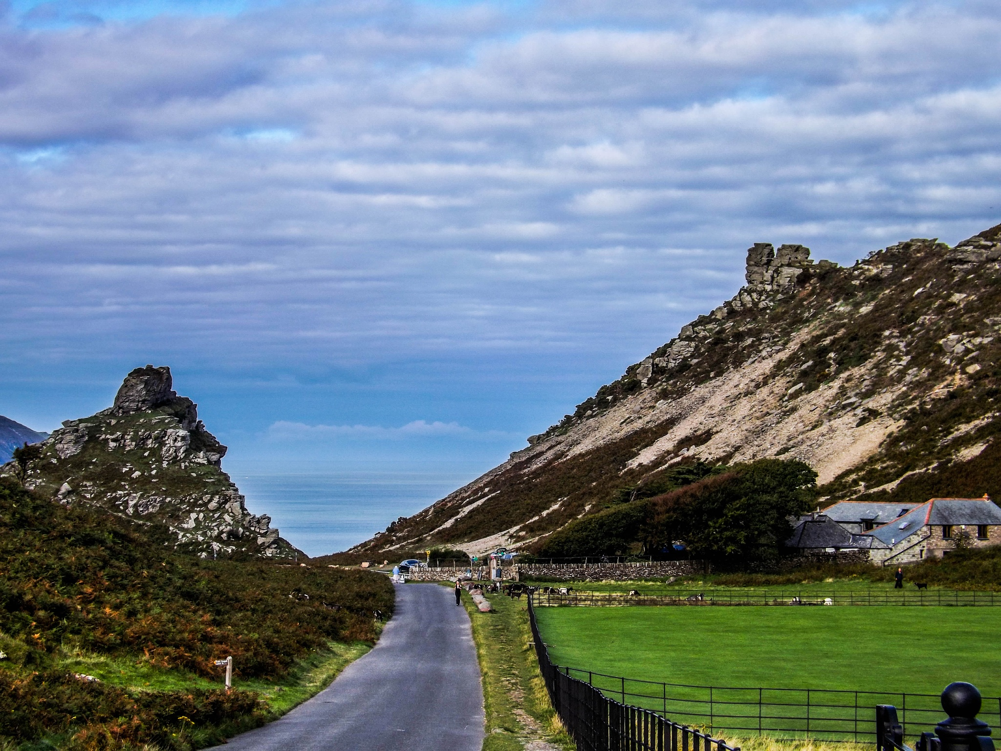 Valley of the Rocks by Gemma Sizer
