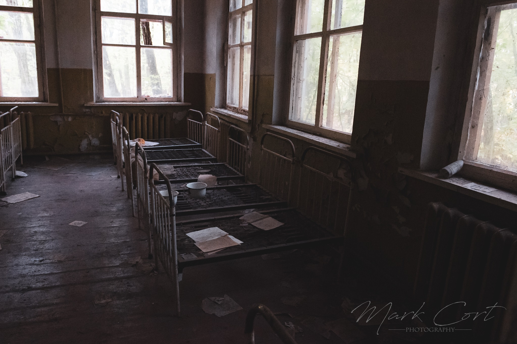 Pripyat Cots by Mark Cort
