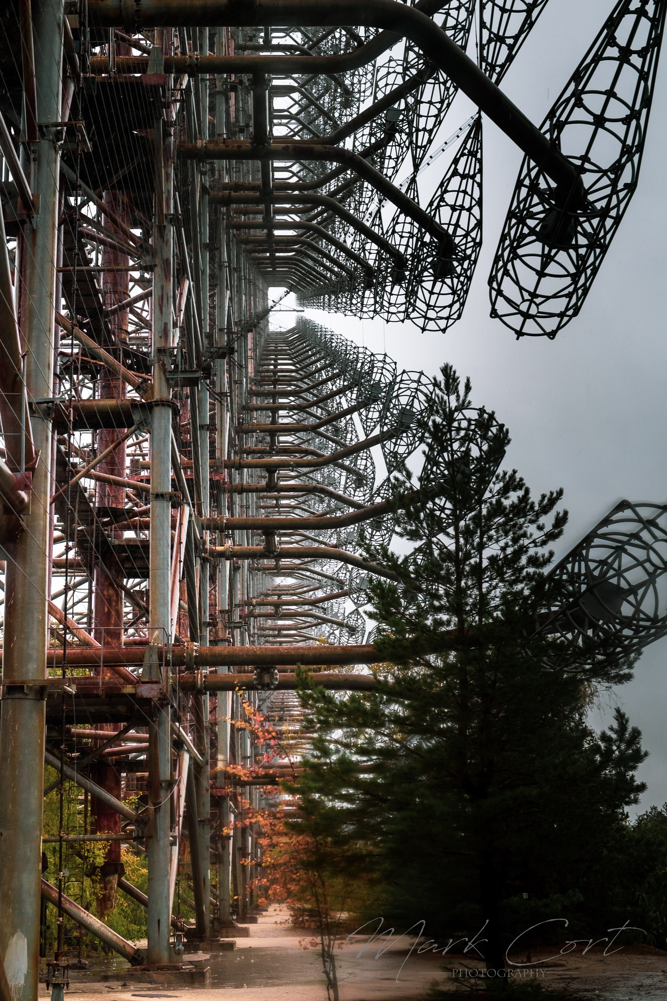 Duga Radar, Pripyat by Mark Cort